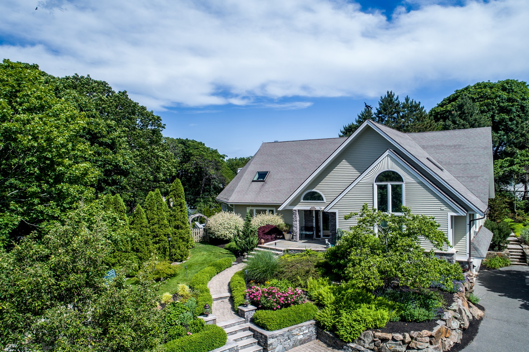 Single Family Home for Sale at Captivating Contemporary 2 Mallard Way Gloucester, Massachusetts 01930 United States