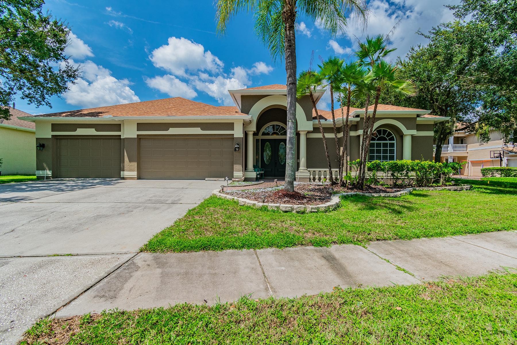 Single Family Homes por un Venta en LUTZ 19106 Harbor Cove Ct, Lutz, Florida 33558 Estados Unidos