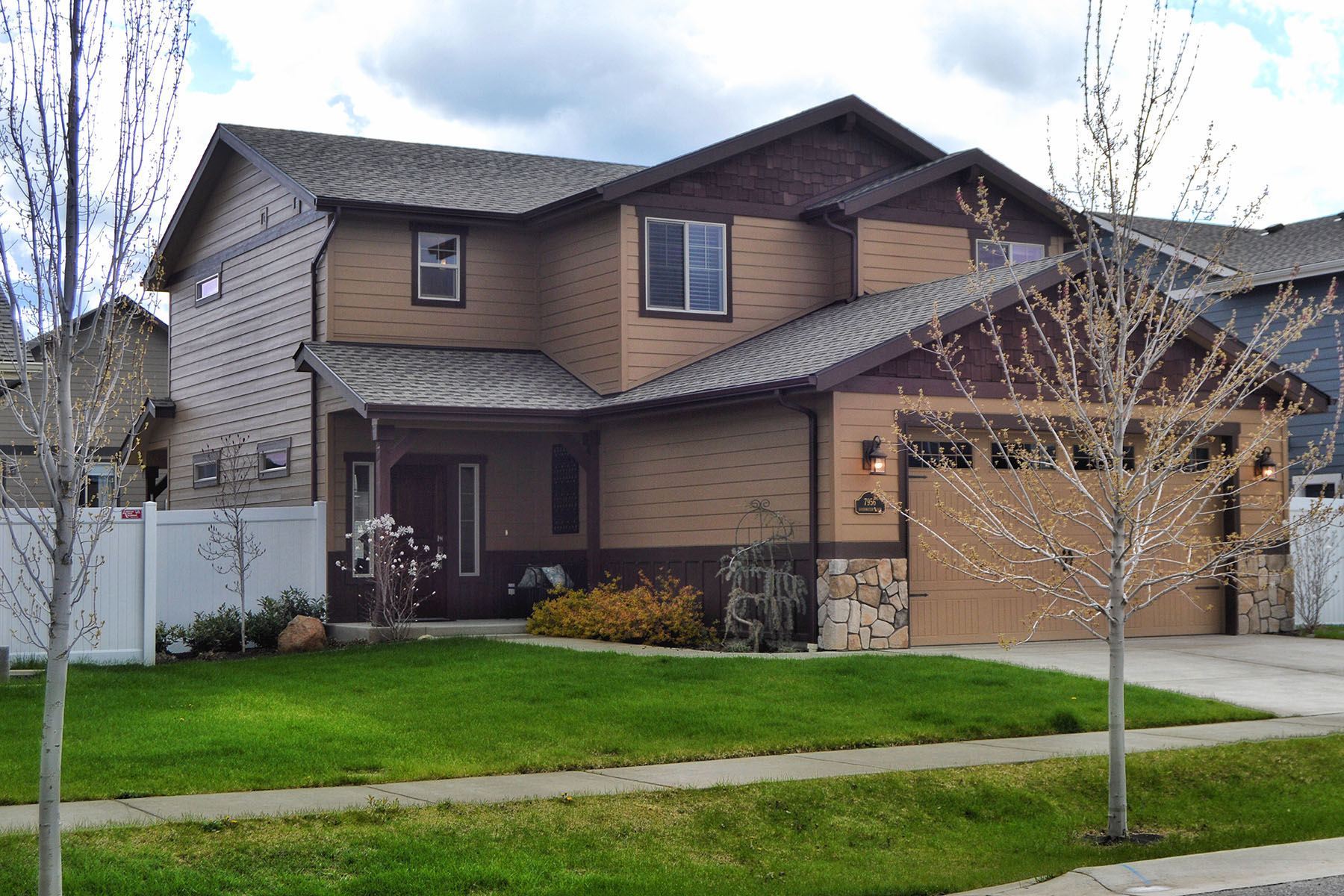 Single Family Home for Sale at 7956 N. Goodwater Loop 7956 N Goodwater Loop Coeur D Alene, Idaho, 83815 United States