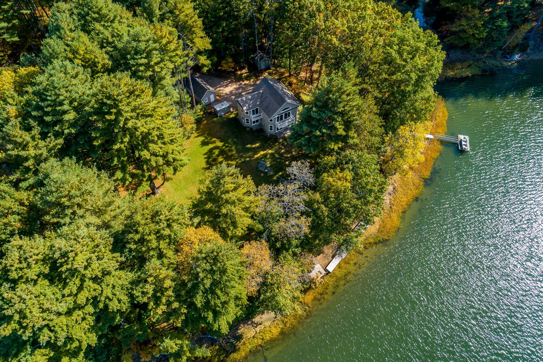 Single Family Homes for Active at 3 Bedroom Riverfront Colonial in Eliot 29 Osprey Cove Lane Eliot, Maine 03903 United States