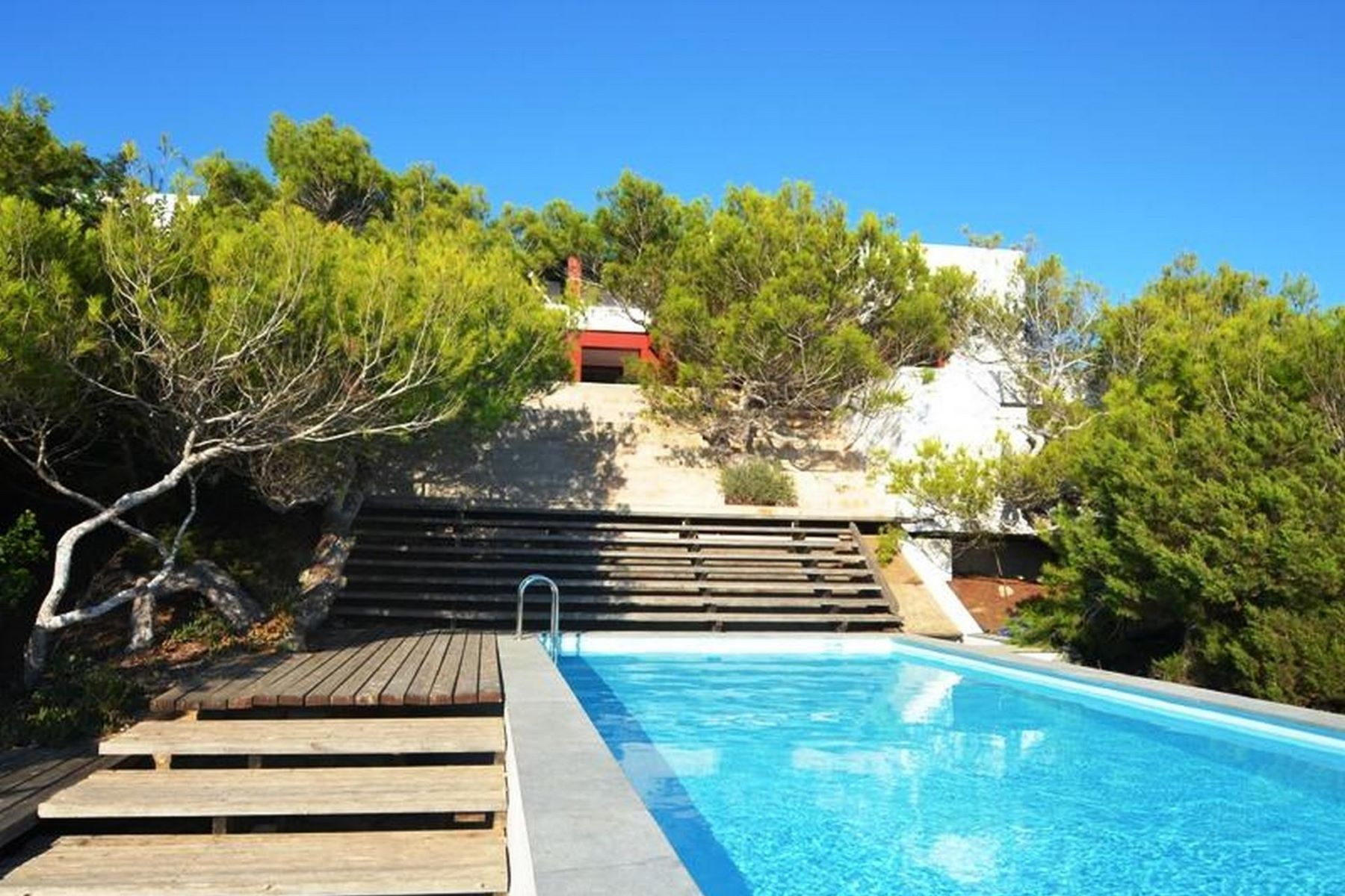 Single Family Home for Rent at Spectacular Water Front Villa in Es Ram, Formentera for rent Formentera, Balearic Islands Spain