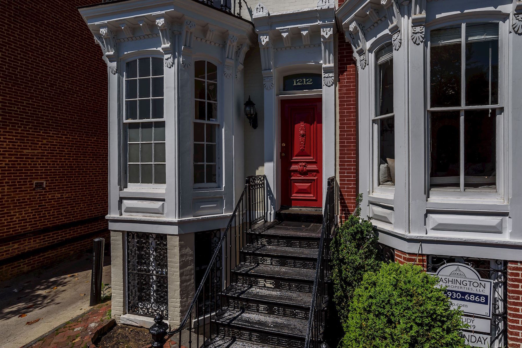 Casa unifamiliar adosada (Townhouse) por un Alquiler en 1212 30th Street 1212 30th Street Nw Washington, Distrito De Columbia 20007 Estados Unidos