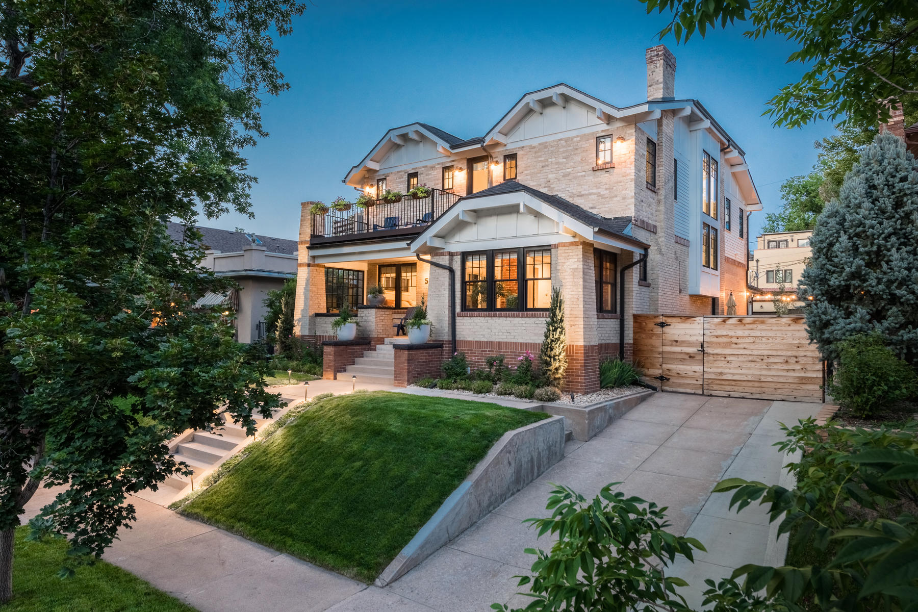 Single Family Home for Active at Historic Charm with a Clean, Modern Aesthetic 528 S. Corona Street Denver, Colorado 80209 United States