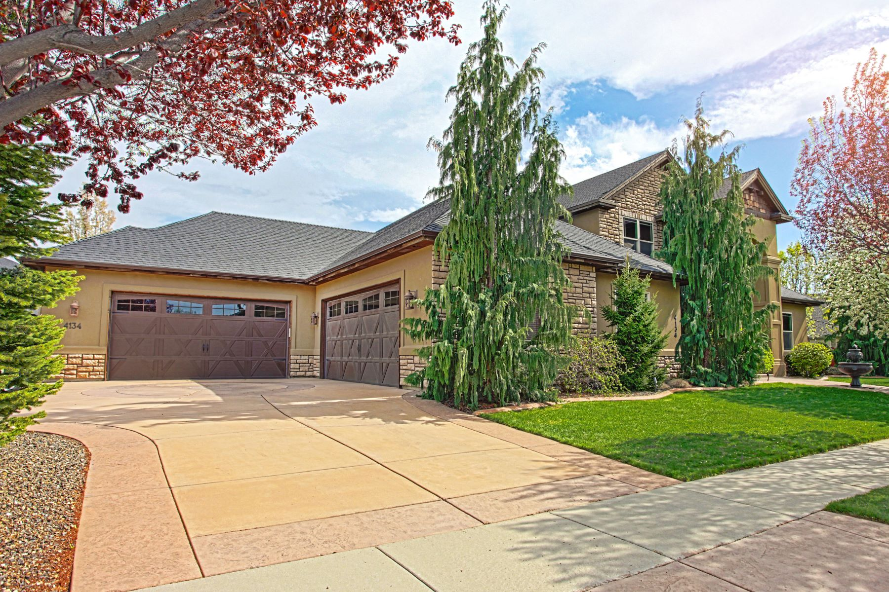 Single Family Home for Sale at 4134 Heritage Woods Way, Meridian 4134 N Heritage Woods Way Meridian, Idaho, 83646 United States