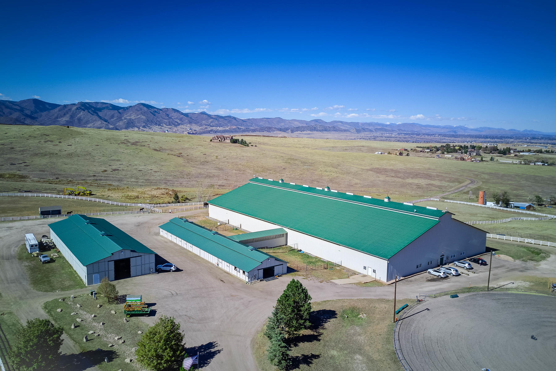 Farm / Ranch / Plantation for Sale at 55 Acre Equestrian Center 7745 N Moore Rd, Littleton, Colorado 80125 United States