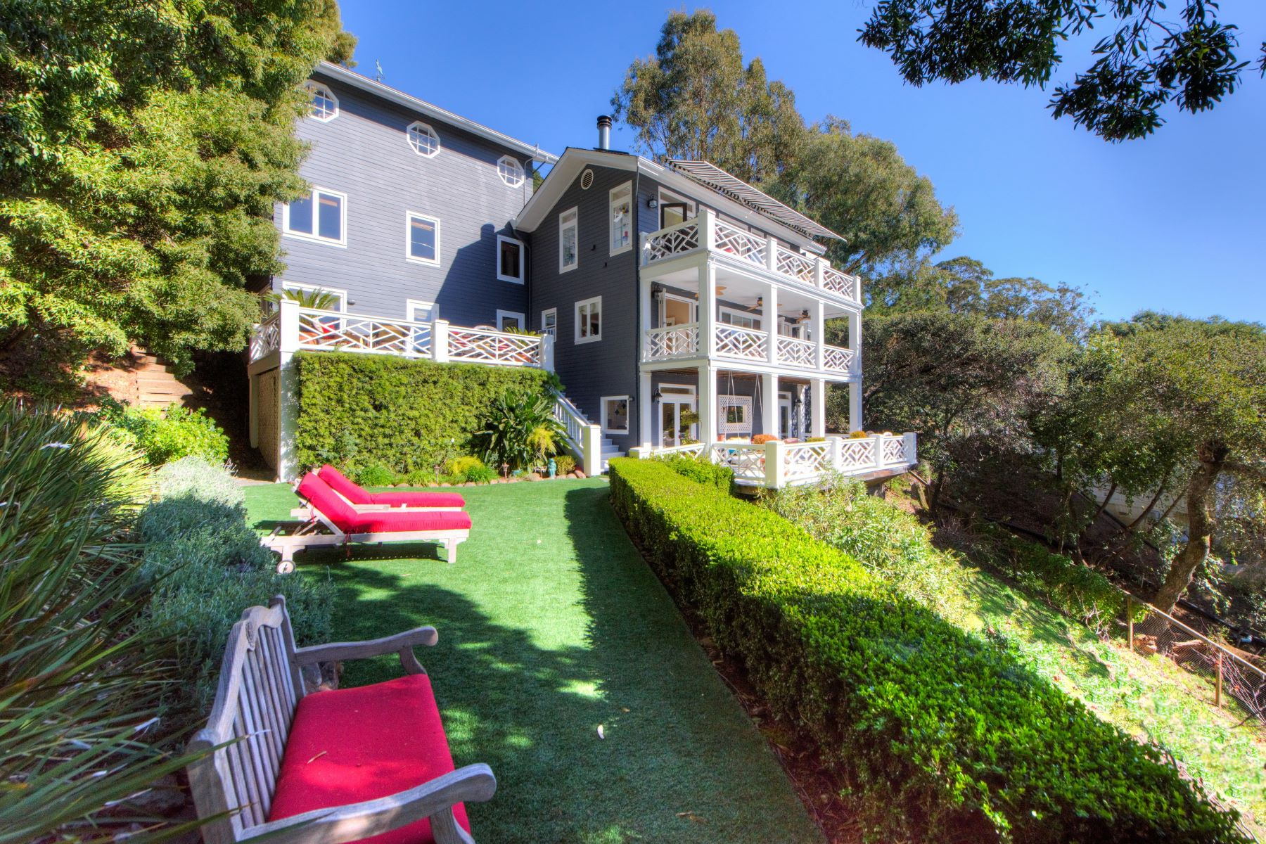 Single Family Home for Sale at California Indoor-Outdoor Lifestyle 365 Margarita Drive San Rafael, California 94901 United States