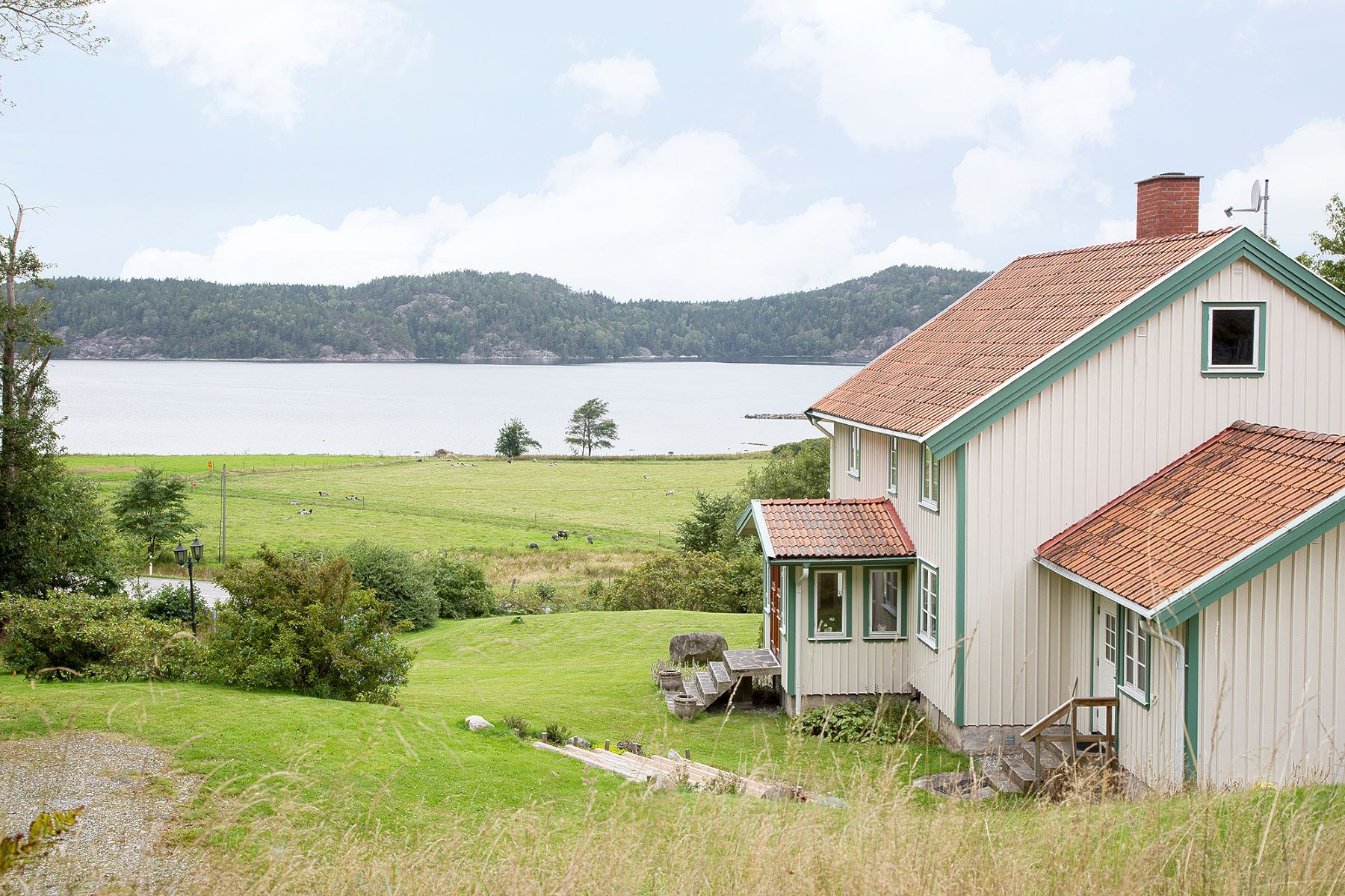 Single Family Home for Sale at BEAUTIFUL FARMSTEAD WITH A SEA VIEW Other Vastra Gotaland, Vastra Gotaland Sweden