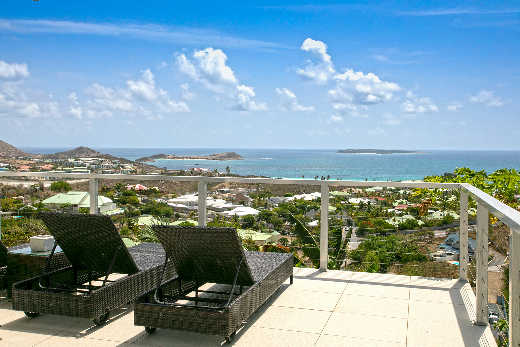 Single Family Homes pour l Vente à Ocean Breeze Orient Bay, Cities In Saint Martin St. Martin