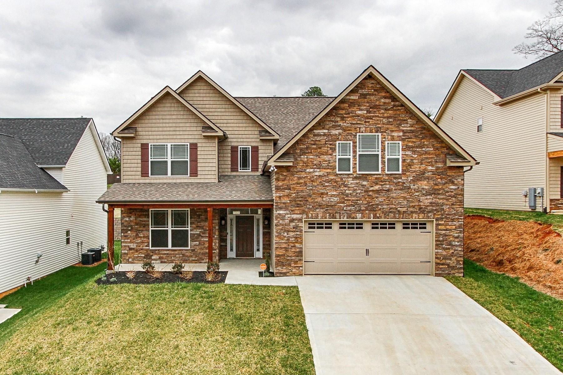 Vivienda unifamiliar por un Venta en Stunning Craftsman Style 1226 Peake Lane, Knoxville, Tennessee, 37922 Estados Unidos