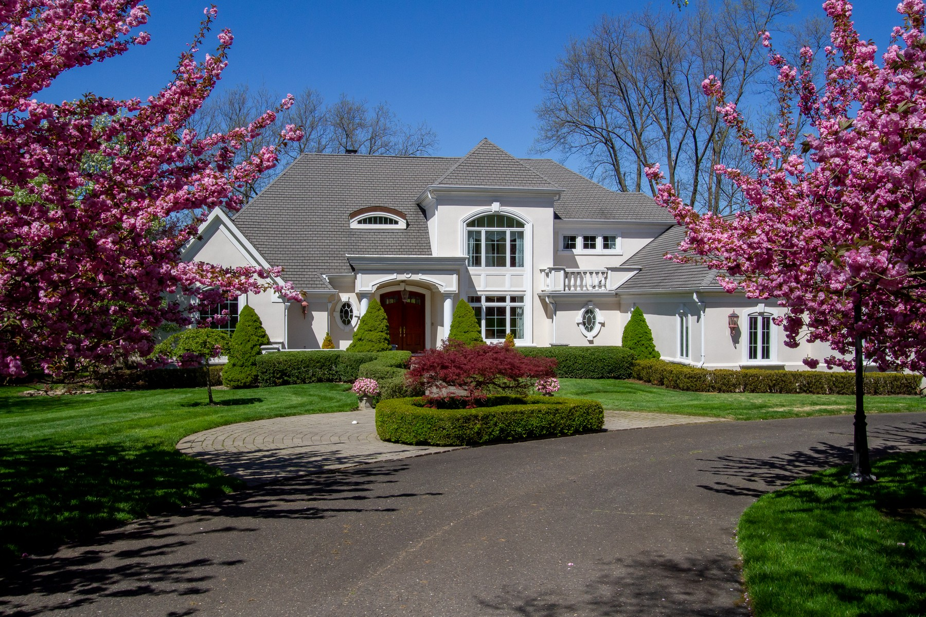 Single Family Homes pour l Vente à Exquisite Rumson Estate 7 Willowbrook Rd, Rumson, New Jersey 07760 États-Unis
