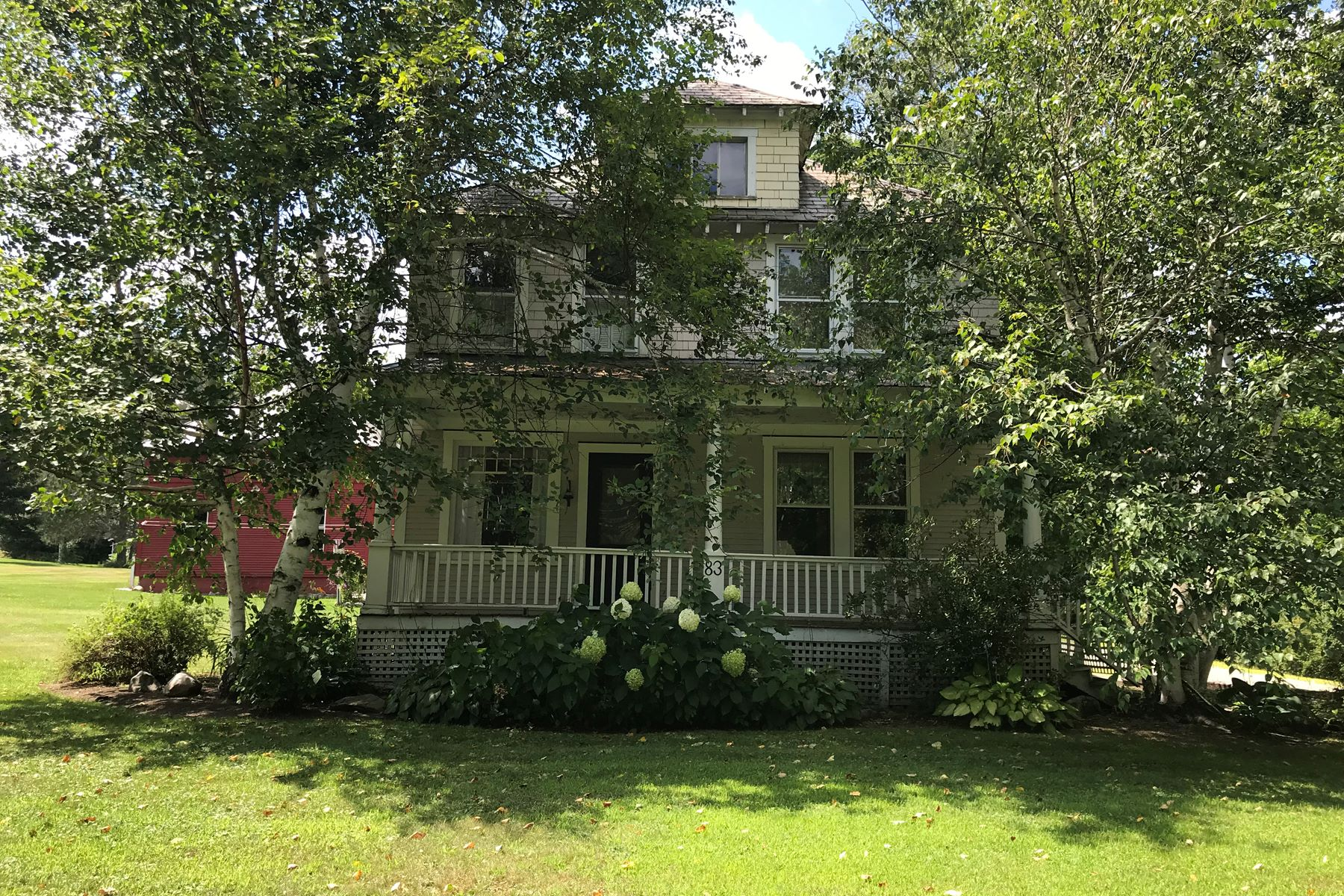 Single Family Homes for Sale at Charming Updated Greek Revival 83 N. Main St Danby, Vermont 05739 United States