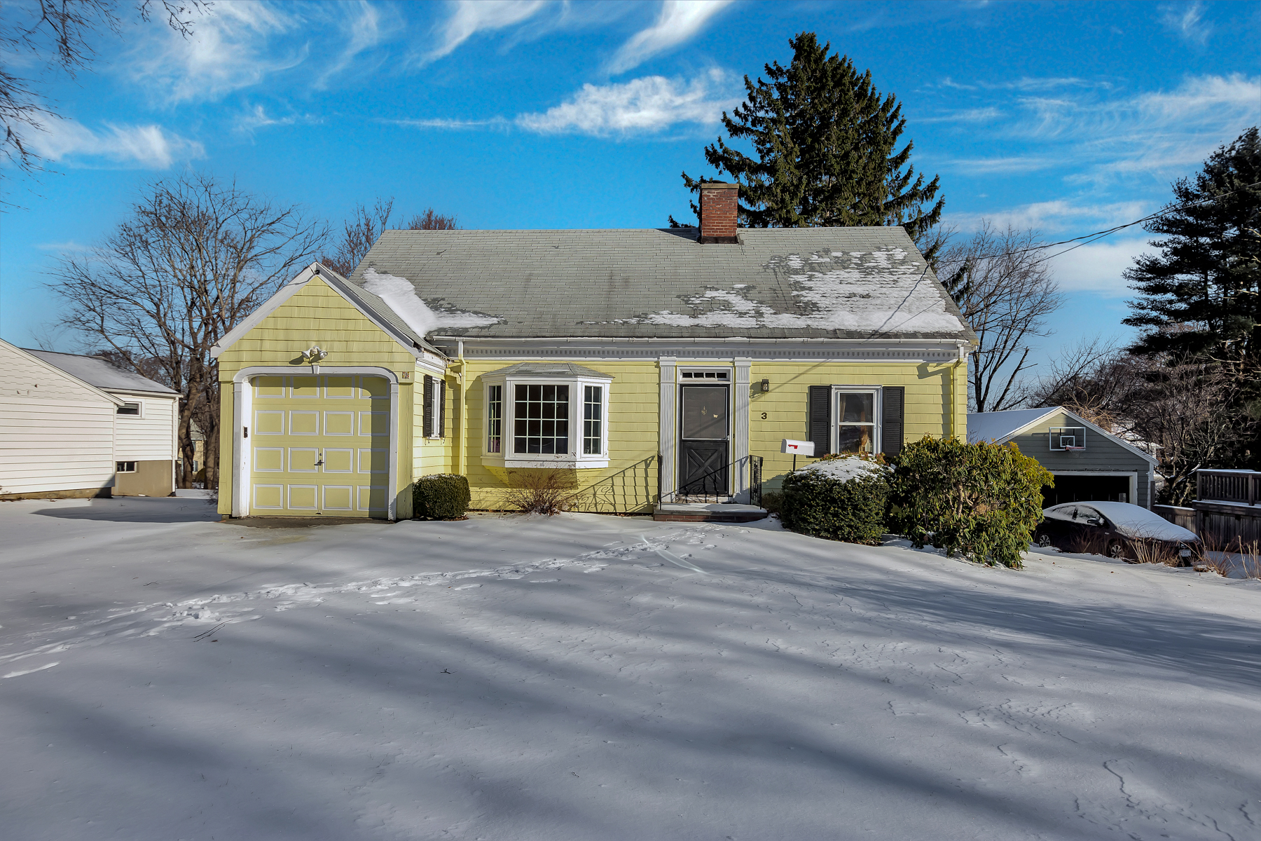 Single Family Homes for Sale at Classic Cape in Ambrose School District 3 Indian Hill Road Winchester, Massachusetts 01890 United States