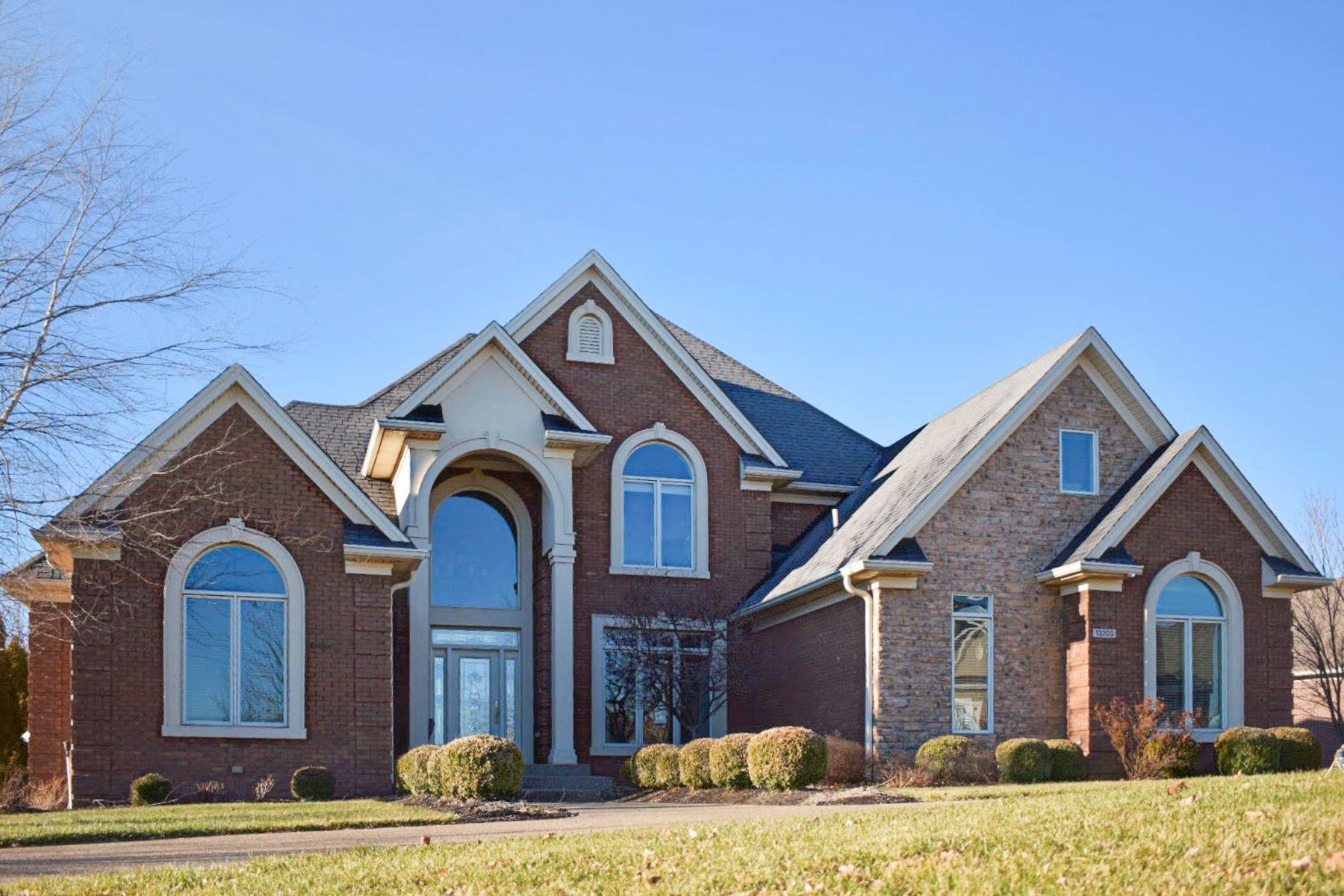 Single Family Homes 为 销售 在 13203 Hampton Circle 哥珊地, 肯塔基州 40026 美国