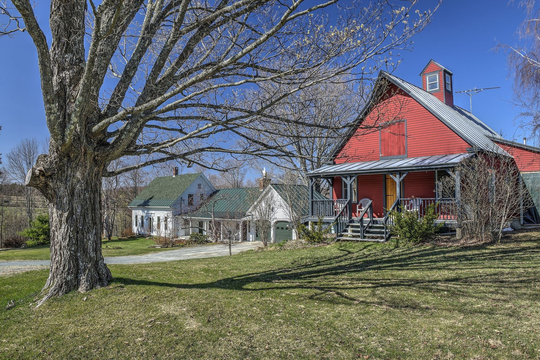 Single Family Home for Sale at Farm has views, orchards, efficiency 2317 North Rd Barnard, Vermont 05031 United States