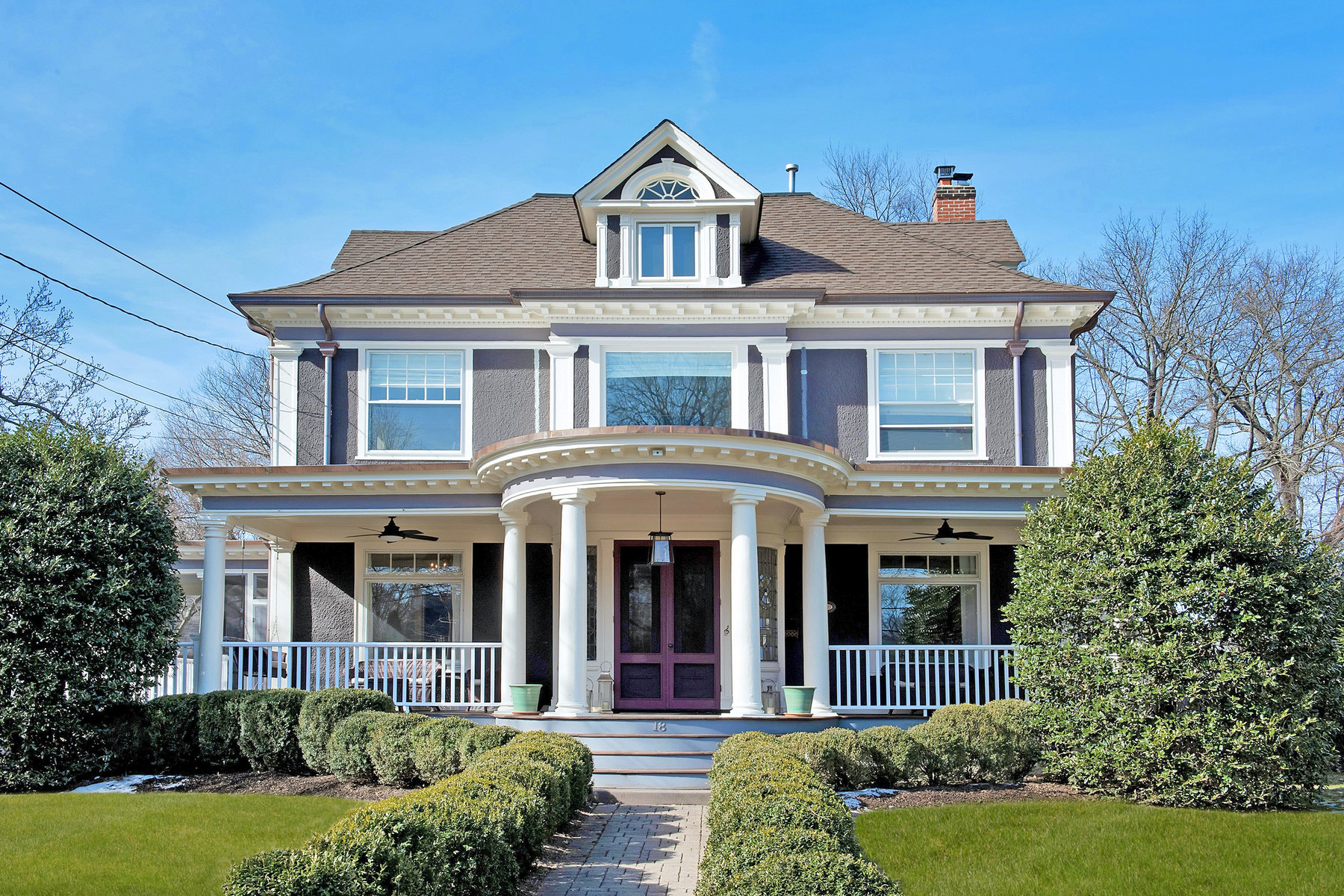 Property for Sale at 1904 Classic Revival Colonial 18 Hobart Avenue, Summit, New Jersey 07901 United States