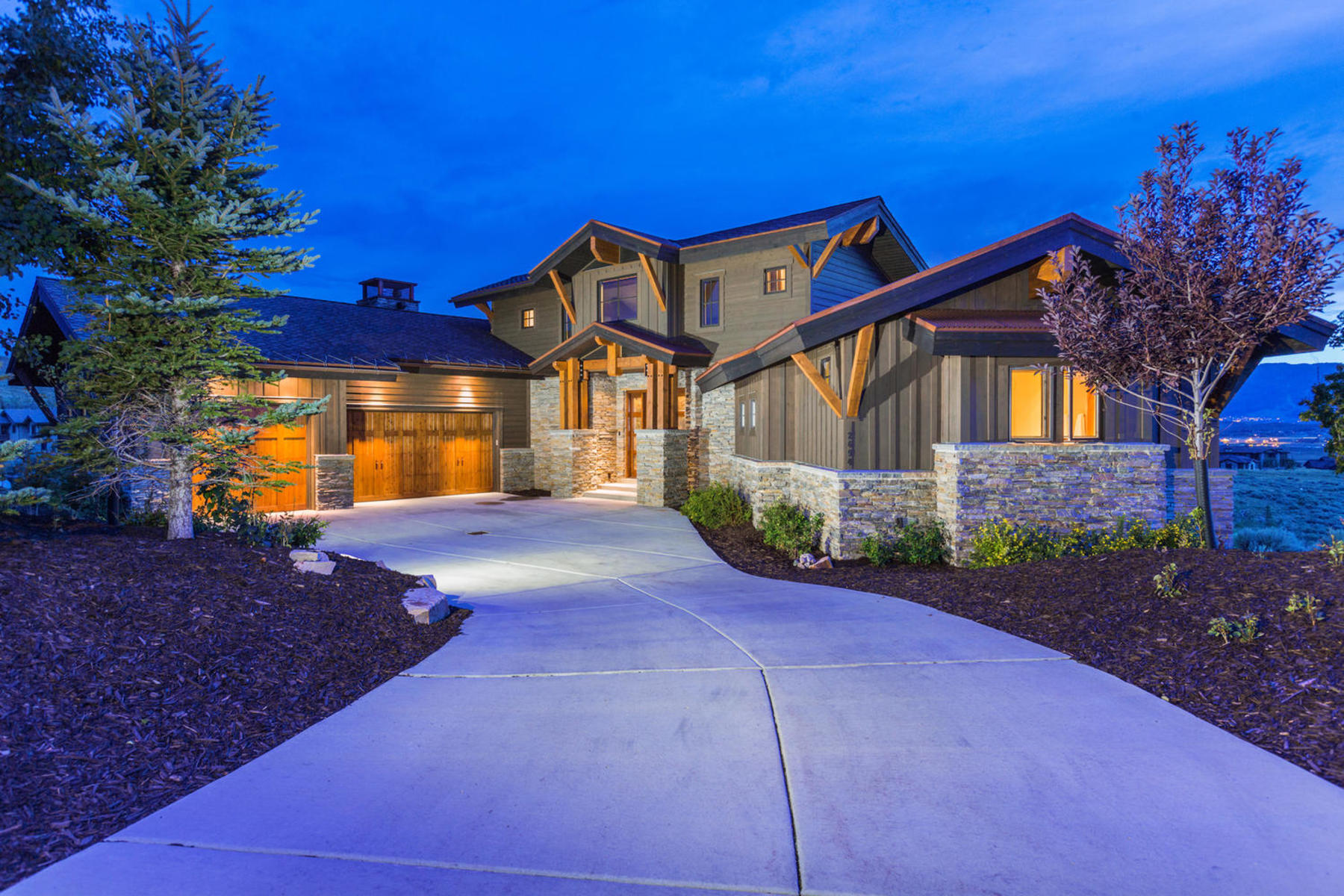 Casa para uma família para Venda às Showcase Promontory Home with Spectacular Ski Views 2694 E Westview Trl Park City, Utah, 84098 Estados Unidos