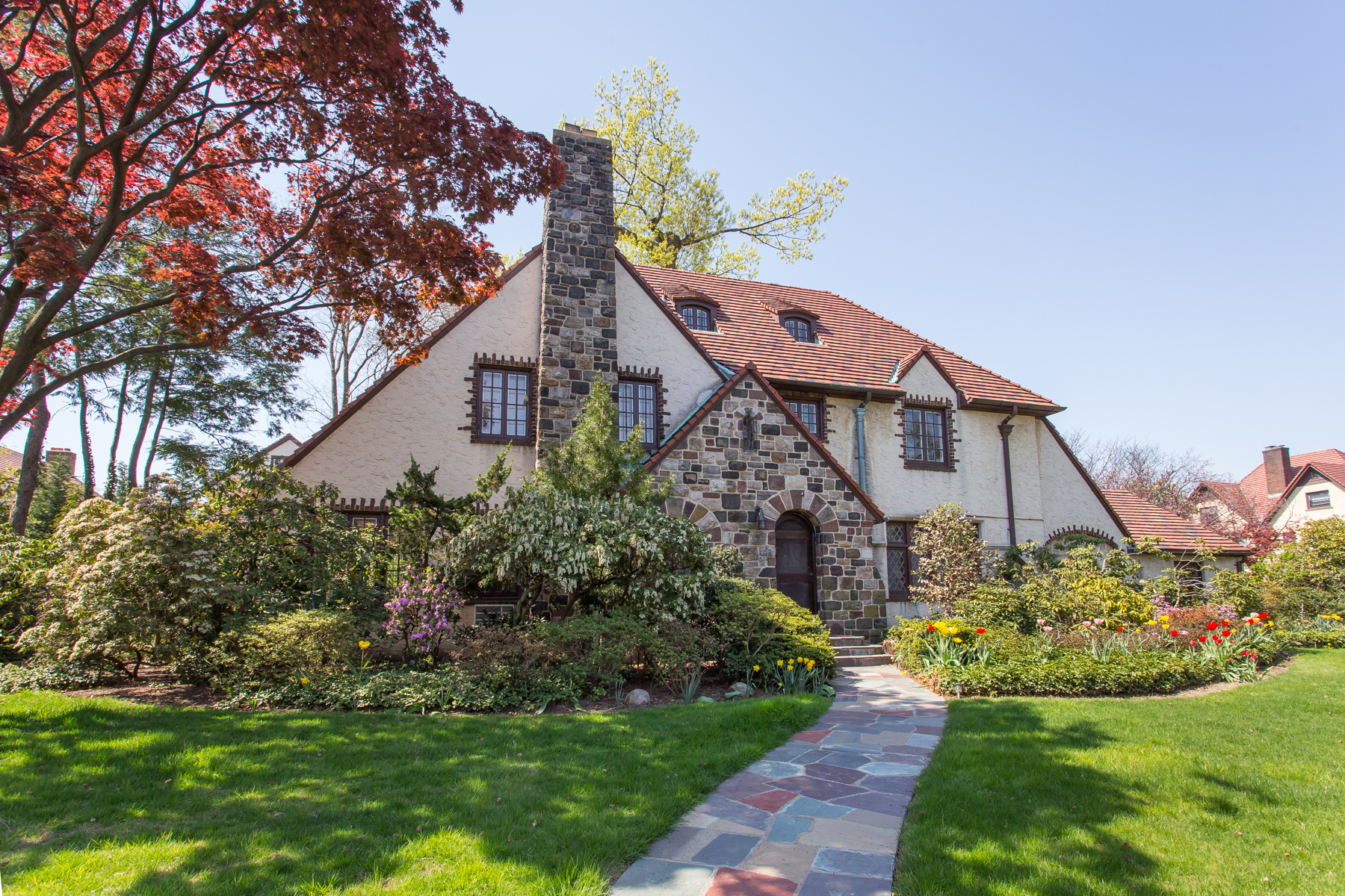 """Single Family Homes for Sale at """"LEGENDARY TUDOR MASTERPIECE"""" 55 Exeter Street, Forest Hills Gardens, Queens, New York 11375 United States"""