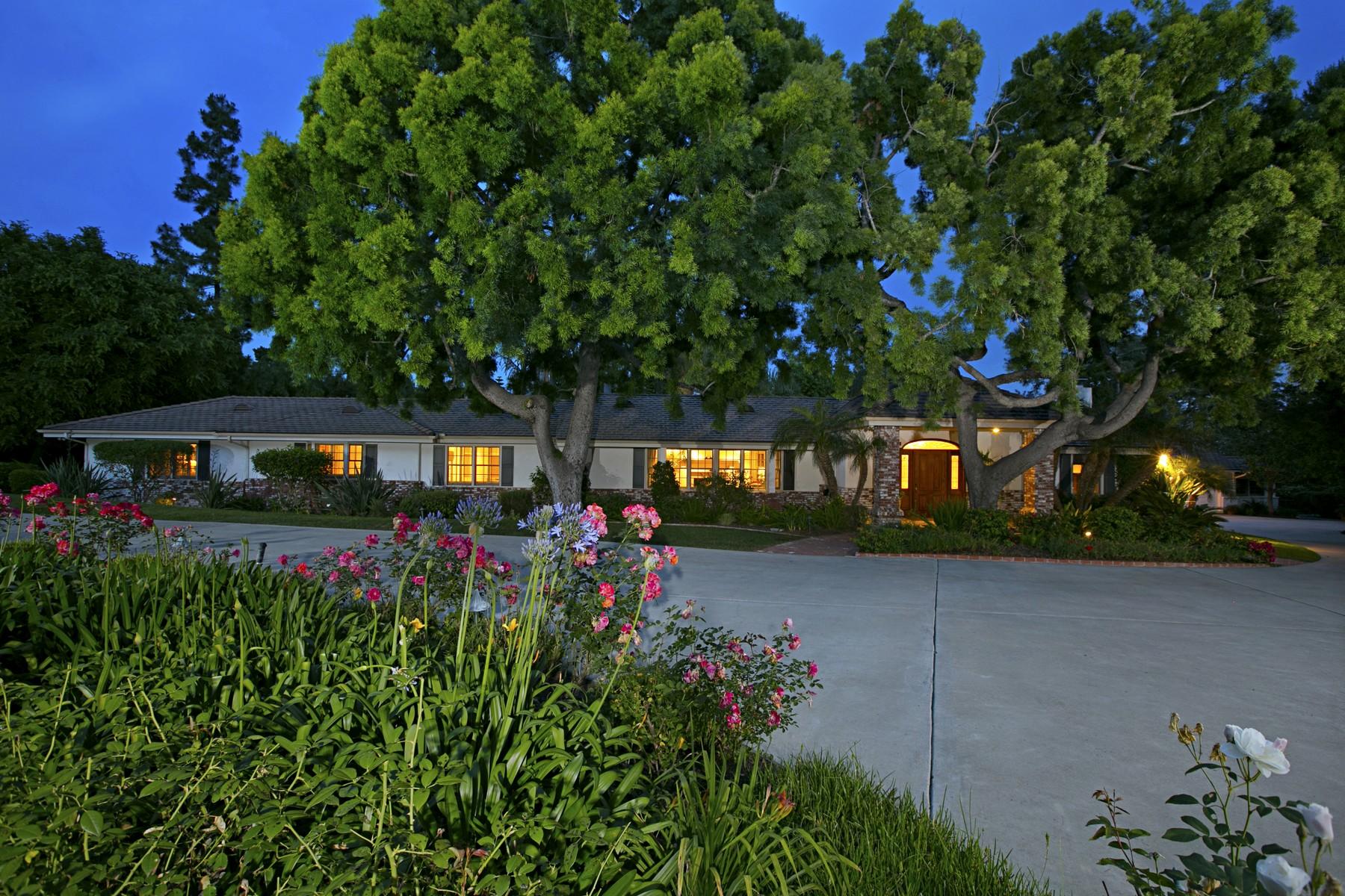 단독 가정 주택 용 매매 에 6011 Lago Lindo Rancho Santa Fe, 캘리포니아, 92067 미국