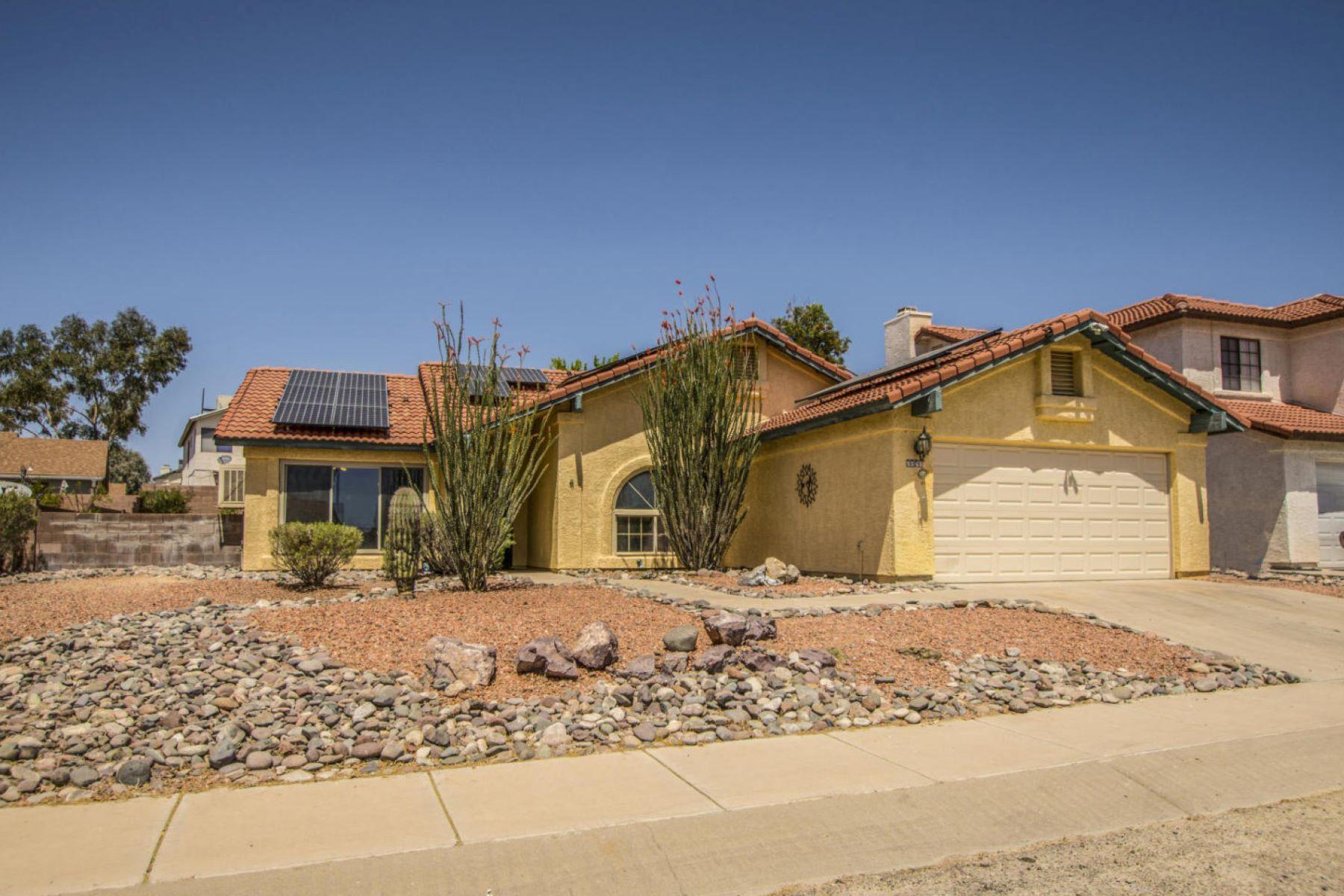 Maison unifamiliale pour l Vente à Energy Efficient Home 5240 W Grouse Way Tucson, Arizona, 85742 États-Unis