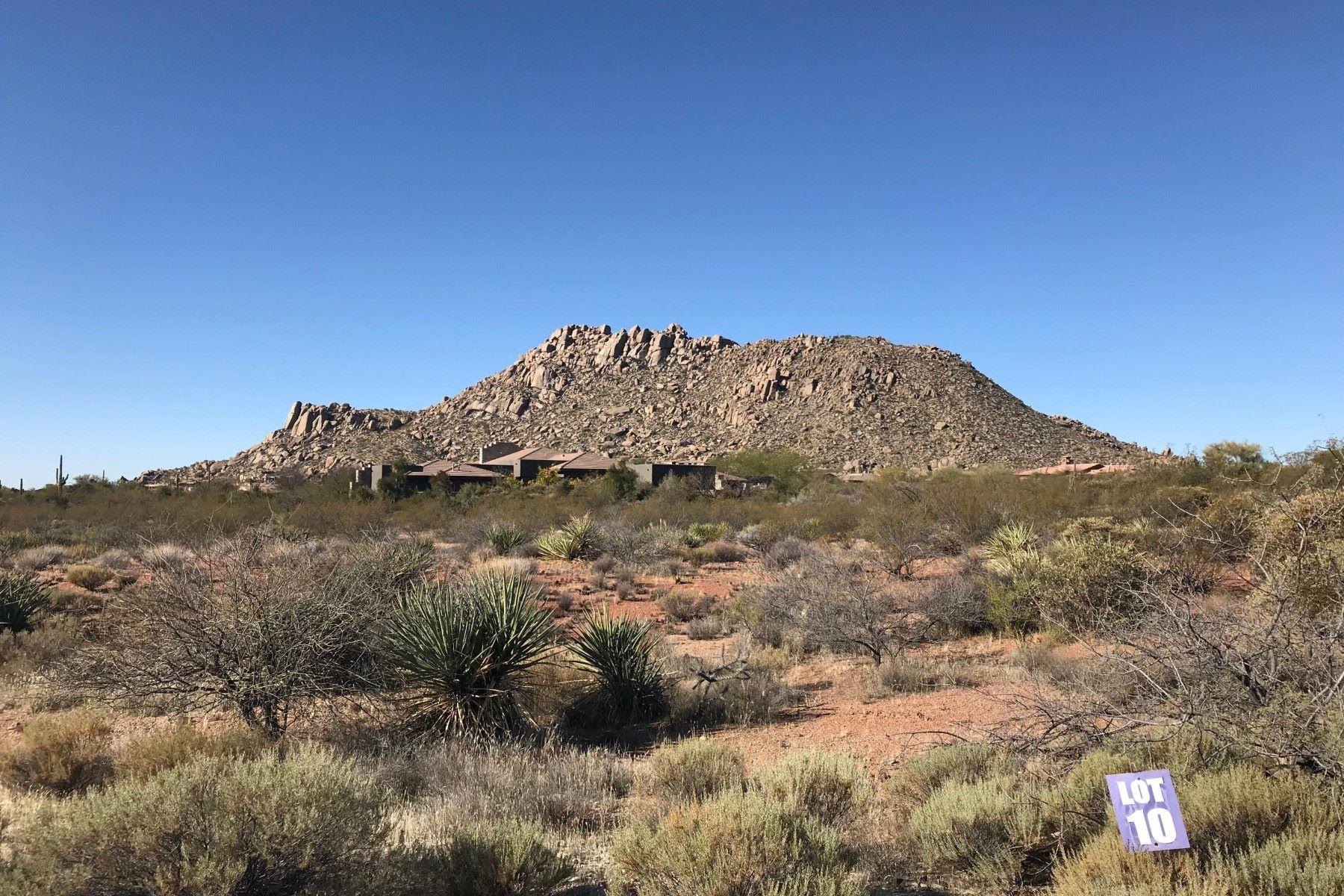 Земля для того Продажа на Yearling Estates 26125 N 116th St Lot 10, Scottsdale, Аризона, 85255 Соединенные Штаты