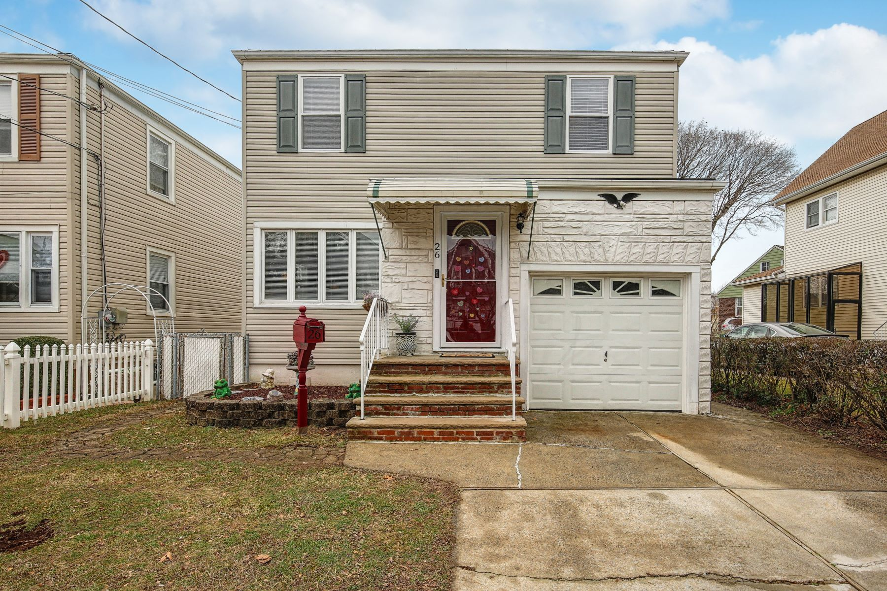 Single Family Homes for Sale at Port Richmond Starter Home 26 Orange Ave Staten Island, New York 10302 United States