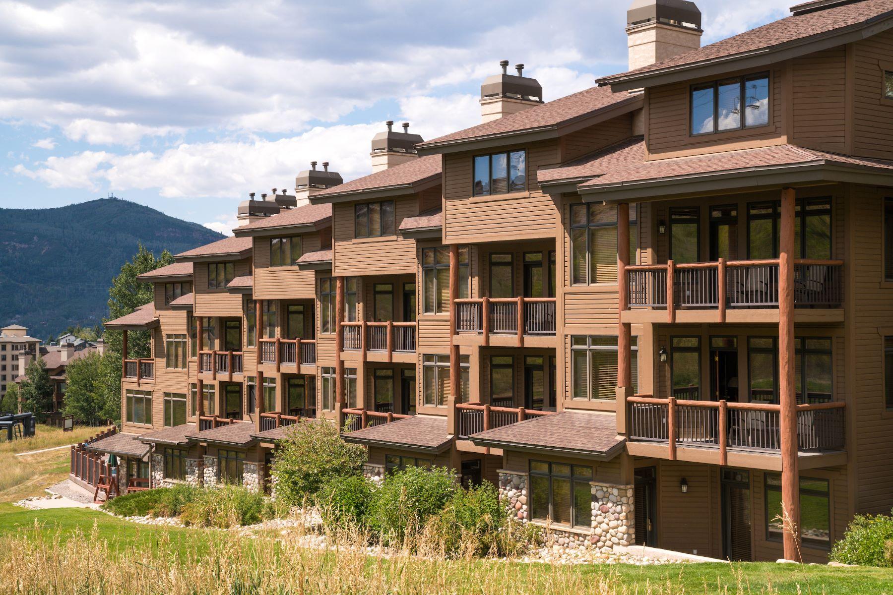 Appartement en copropriété pour l Vente à Christie Club Condo 2355 Ski Time Square, #336 Steamboat Springs, Colorado 80487 États-Unis