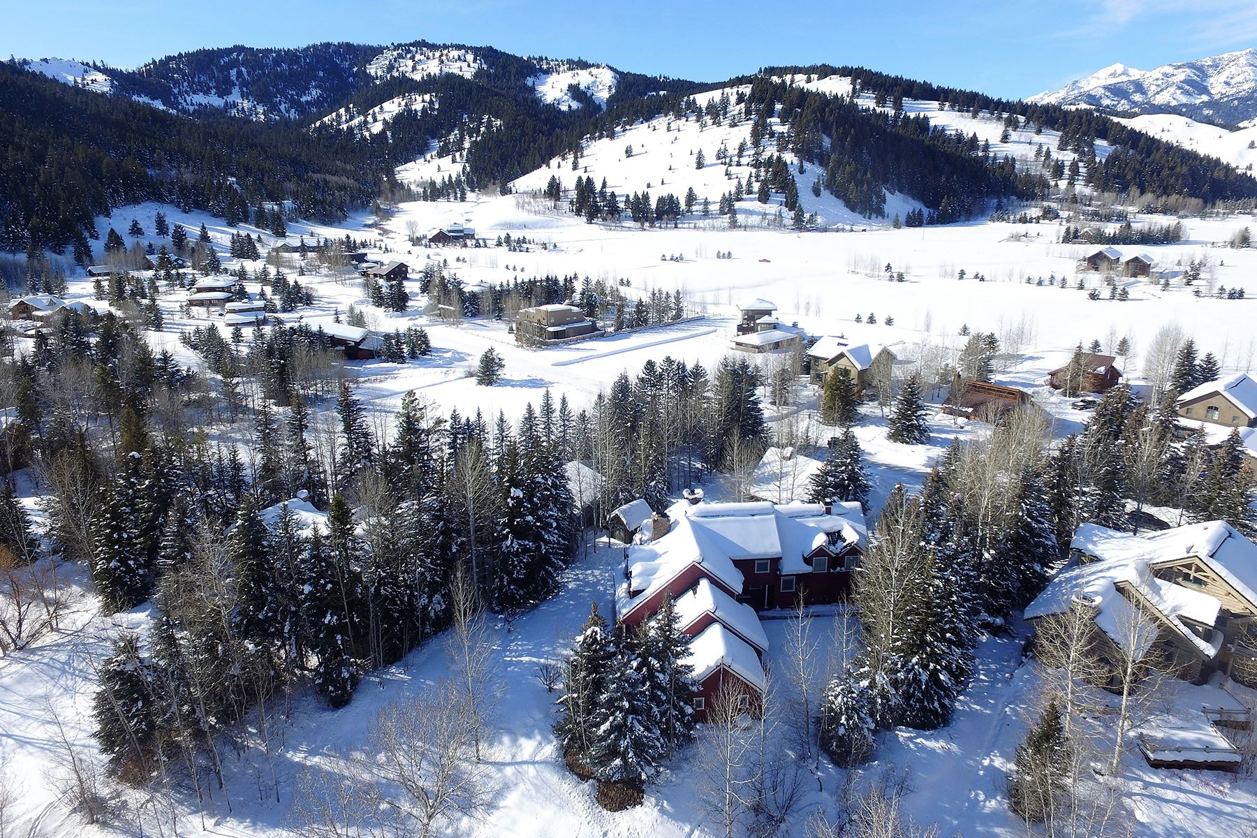 Single Family Home for Active at Charming Riverfront Farmhouse-Inspired Home 107 Chocolate Gulch Rd Ketchum, Idaho 83340 United States