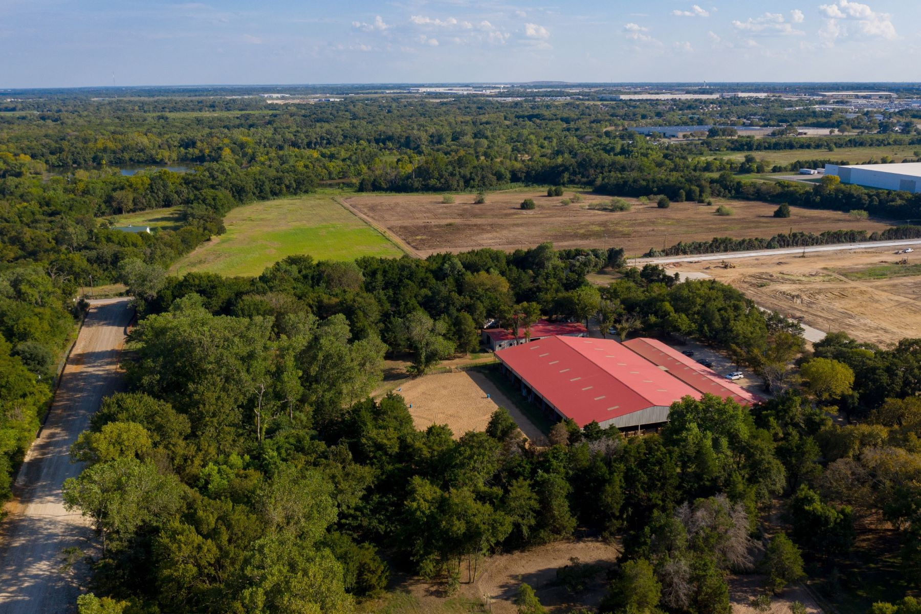 Farm / Ranch / Plantation for Sale at State-of-the-Art Equestrian Facility Just 10 Minutes from Downtown Dallas 1349 E. Cleveland Street Hutchins, Texas 75141 United States