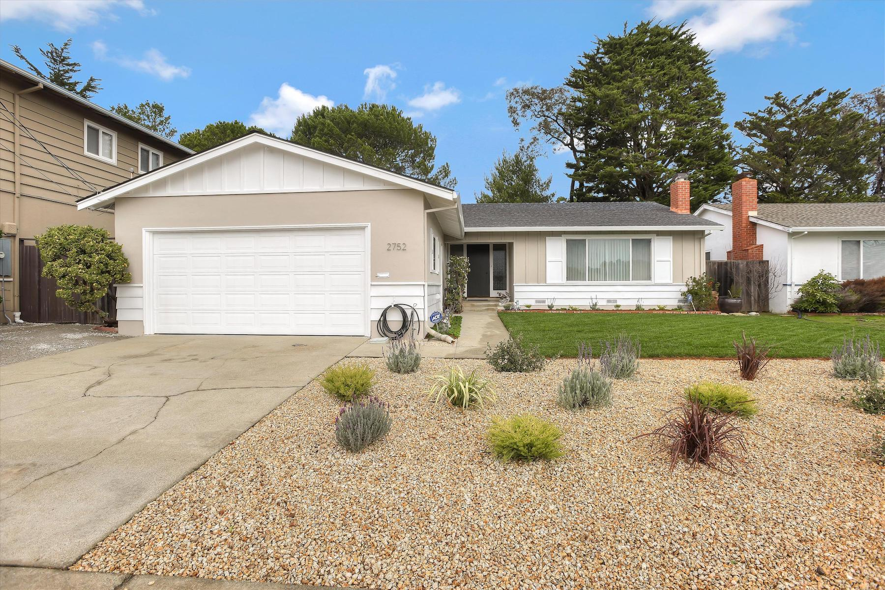 Single Family Home for Active at Extremely Well-Maintained and Centrally Located House 2752 Yosemite Drive Belmont, California 94002 United States