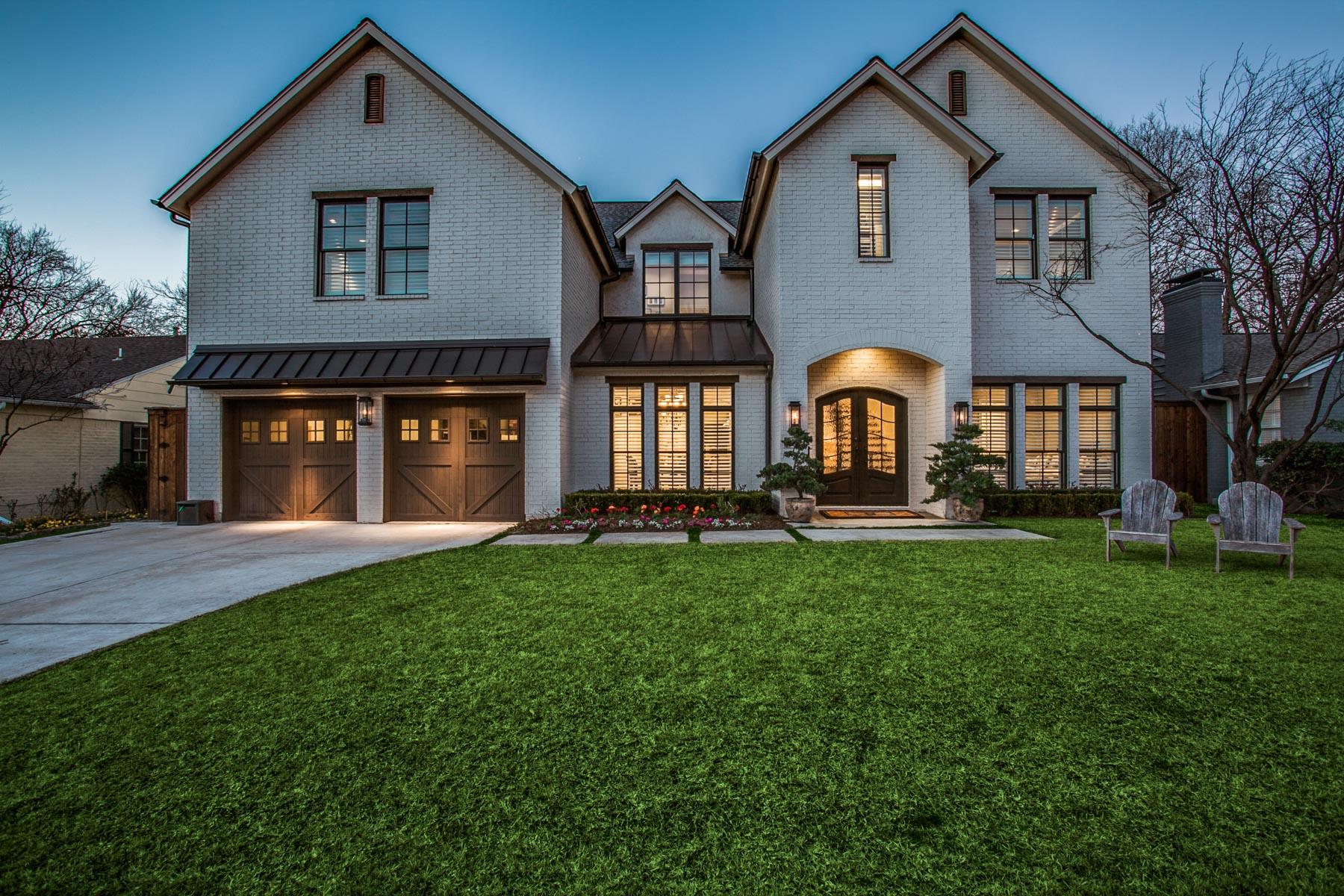 Single Family Home for Sale at Dream Home in Devonshire 5611 Stanford Avenue, Dallas, Texas, 75209 United States