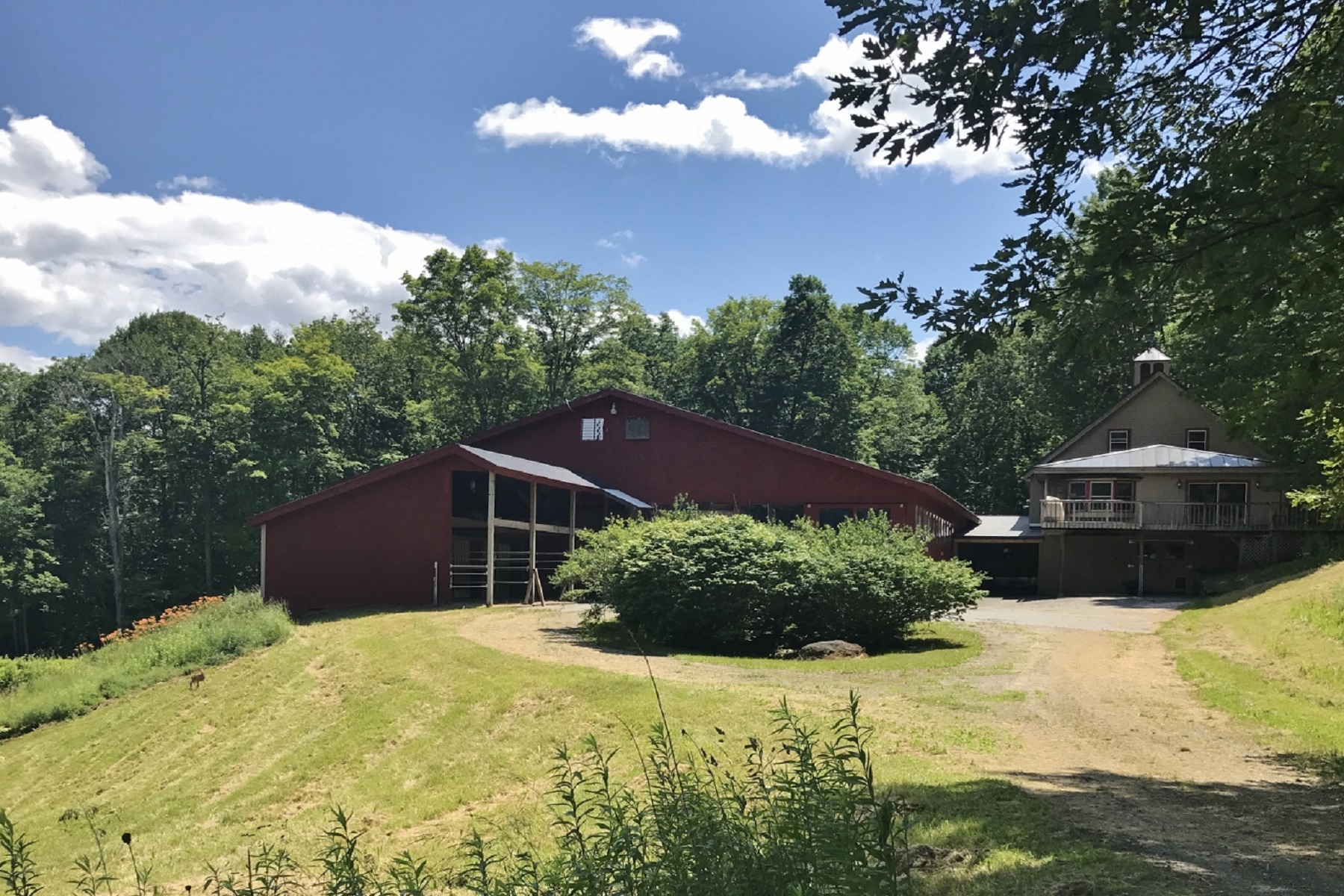 Single Family Homes for Sale at Complete Equestrian Facility 8 Garvin Hill Road Hartland, Vermont 05048 United States