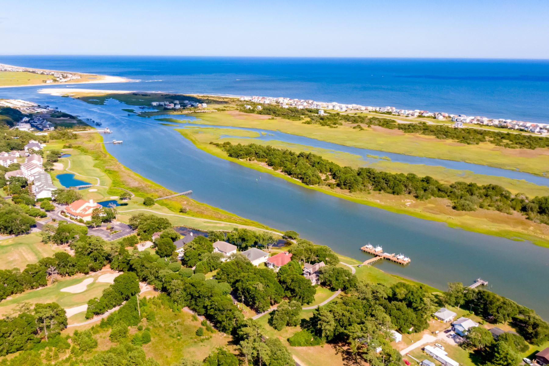 Land for Sale at Waterfront Lot Featuring Breathtaking Views 1856 Goose Creek Road SW Ocean Isle Beach, North Carolina 28469 United States