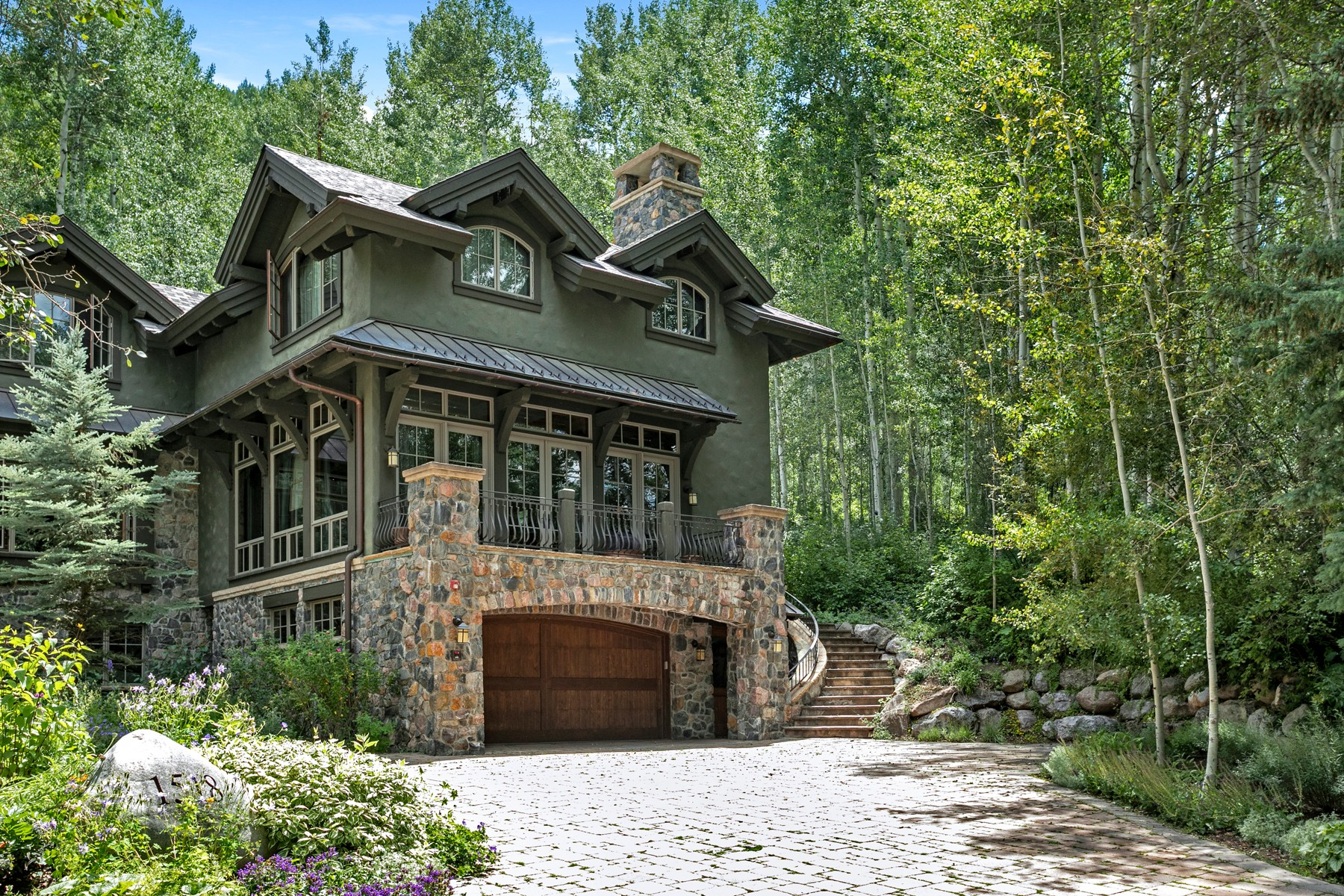 Duplex for Active at A Serene Alpine Escape 1518 Spring Hill Lane #W Vail, Colorado 81657 United States