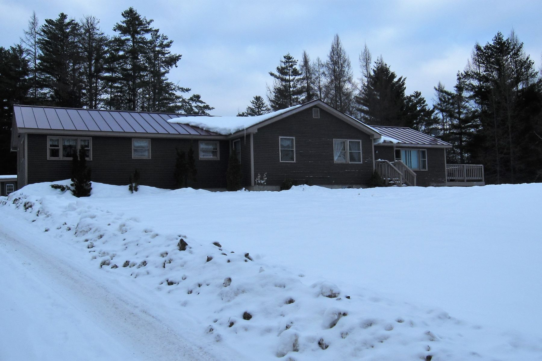 Single Family Home for Sale at Three Bedroom Ranch in Groton 44 Cross Rd Groton, Vermont 05046 United States