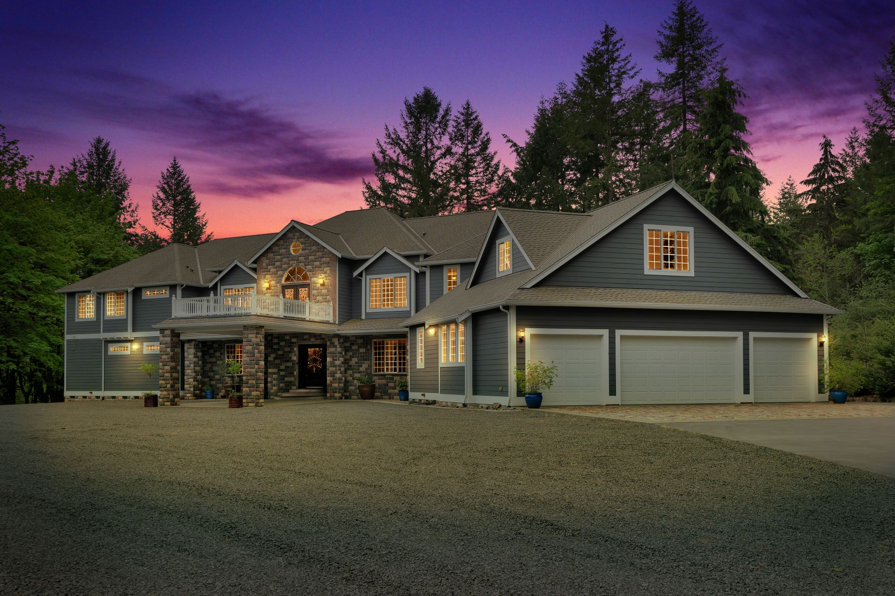 Single Family Homes for Sale at Tumwater Custom Estate 2541 Sapp Road SW Tumwater, Washington 98512 United States