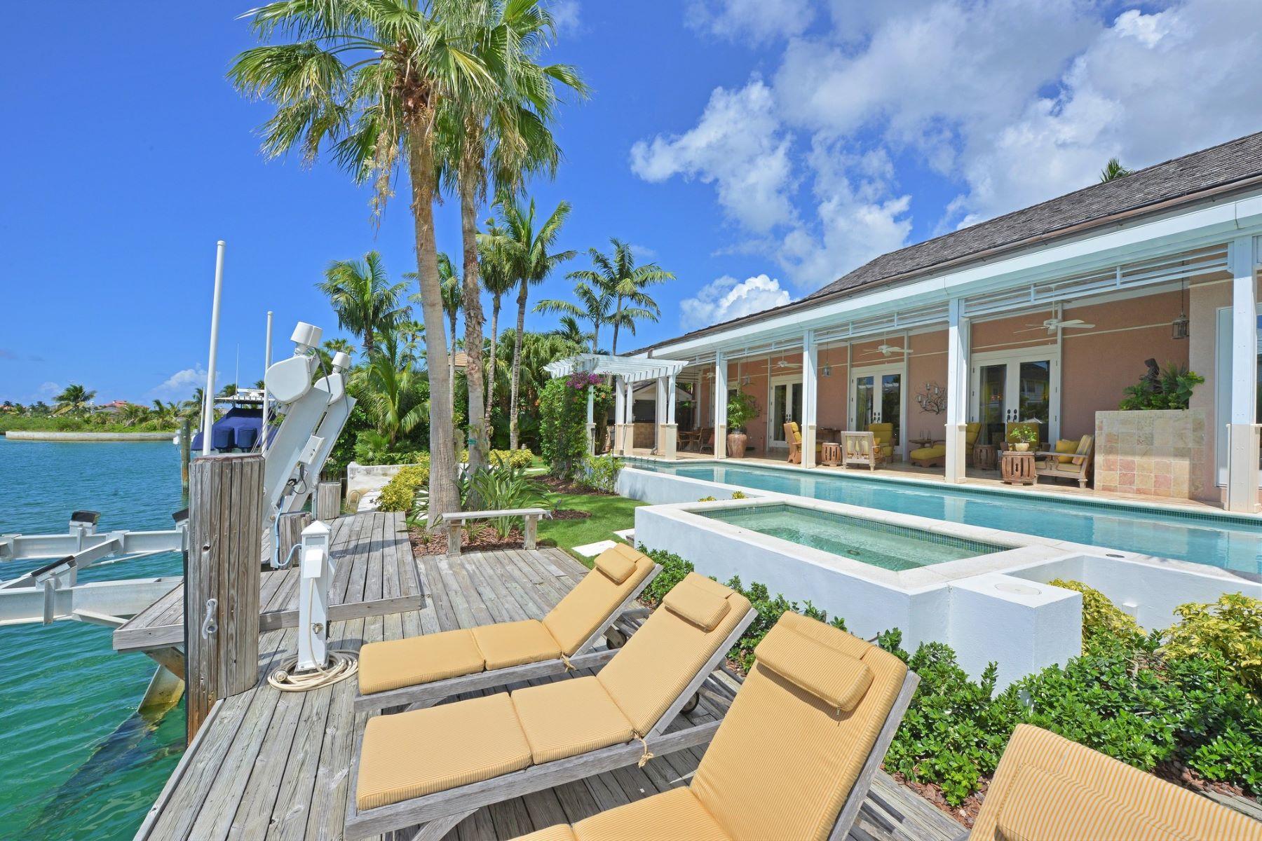 独户住宅 为 销售 在 8 Beach Island Islands At Old Fort Bay, 旧福特湾, 新普罗维登斯/拿骚 巴哈马