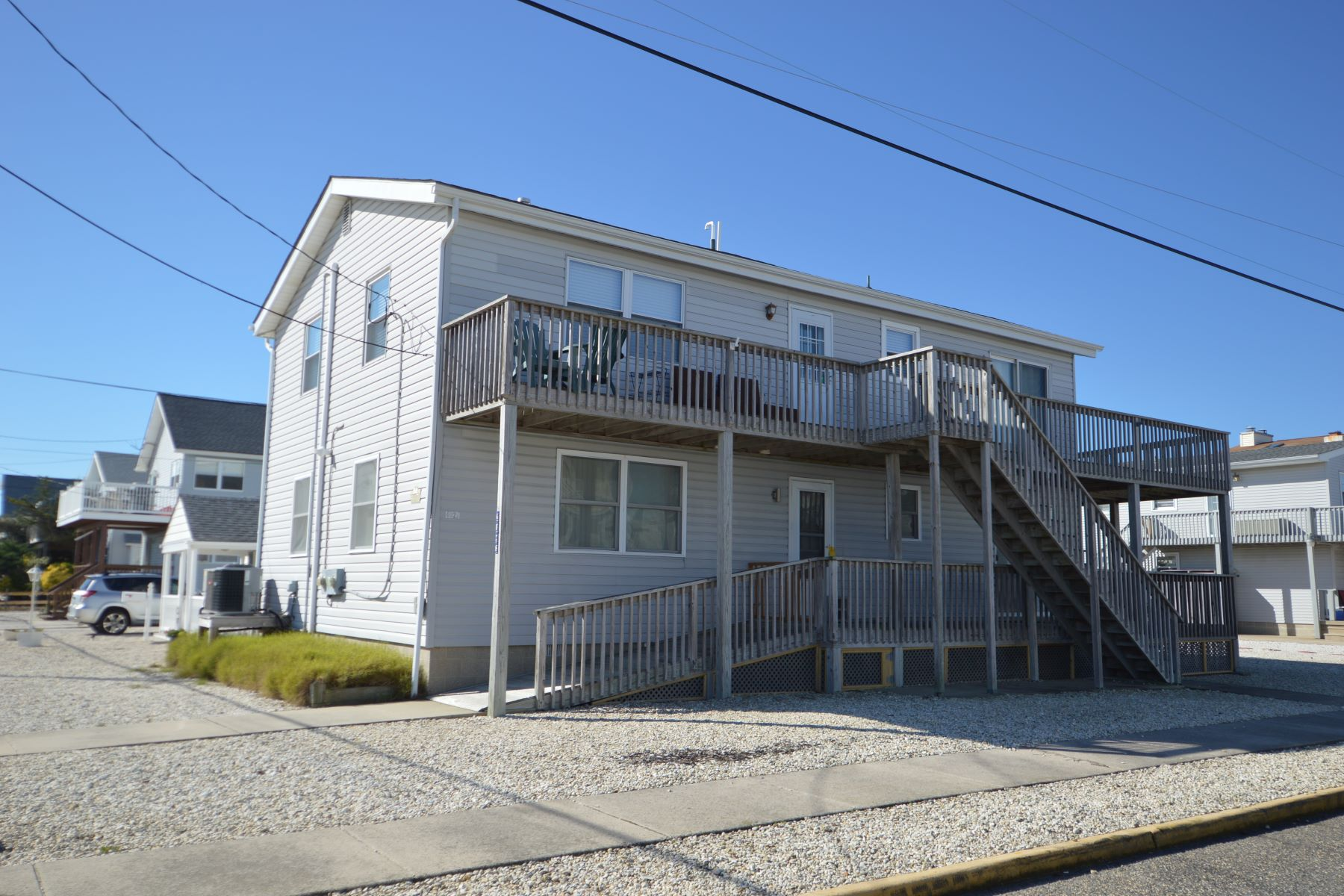 Townhouse for Sale at Ocean Drive Corner Duplex 4028 Ocean Drive 2nd Floor, Avalon, New Jersey 08202 United States