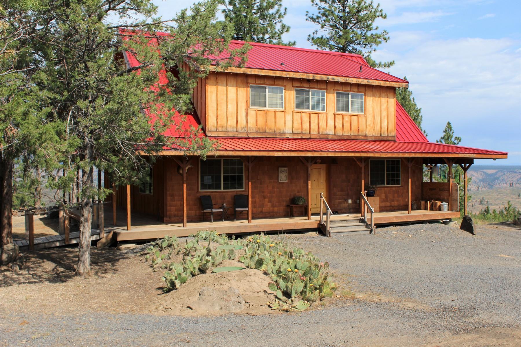 Single Family Homes pour l Vente à 13838 SW Airstrip Lane Culver, OR Culver, Oregon 97734 États-Unis