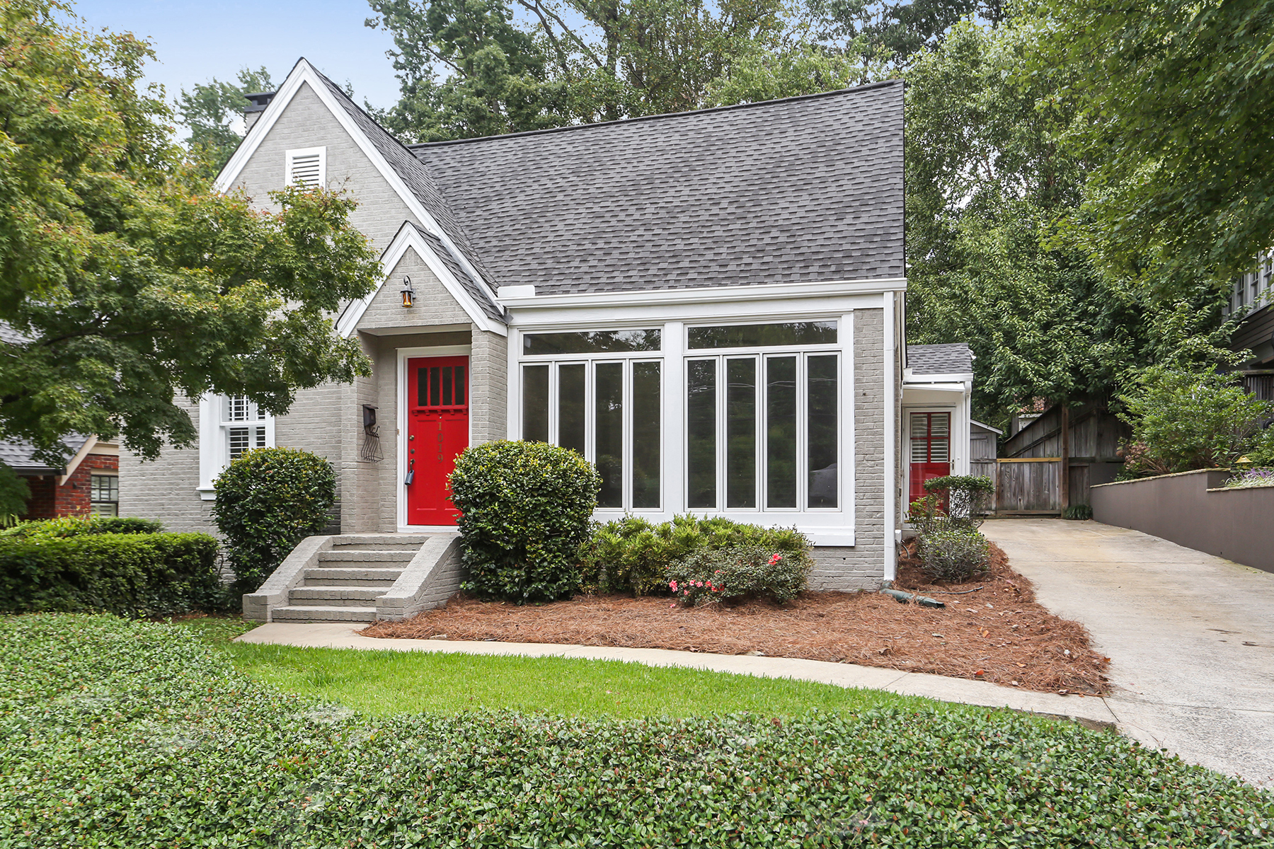 Single Family Home for Sale at Charming Three Bedroom, Two Bath Brick Home in The Heart of Virginia Highland! 1019 Virginia Ave Atlanta, Georgia 30306 United States