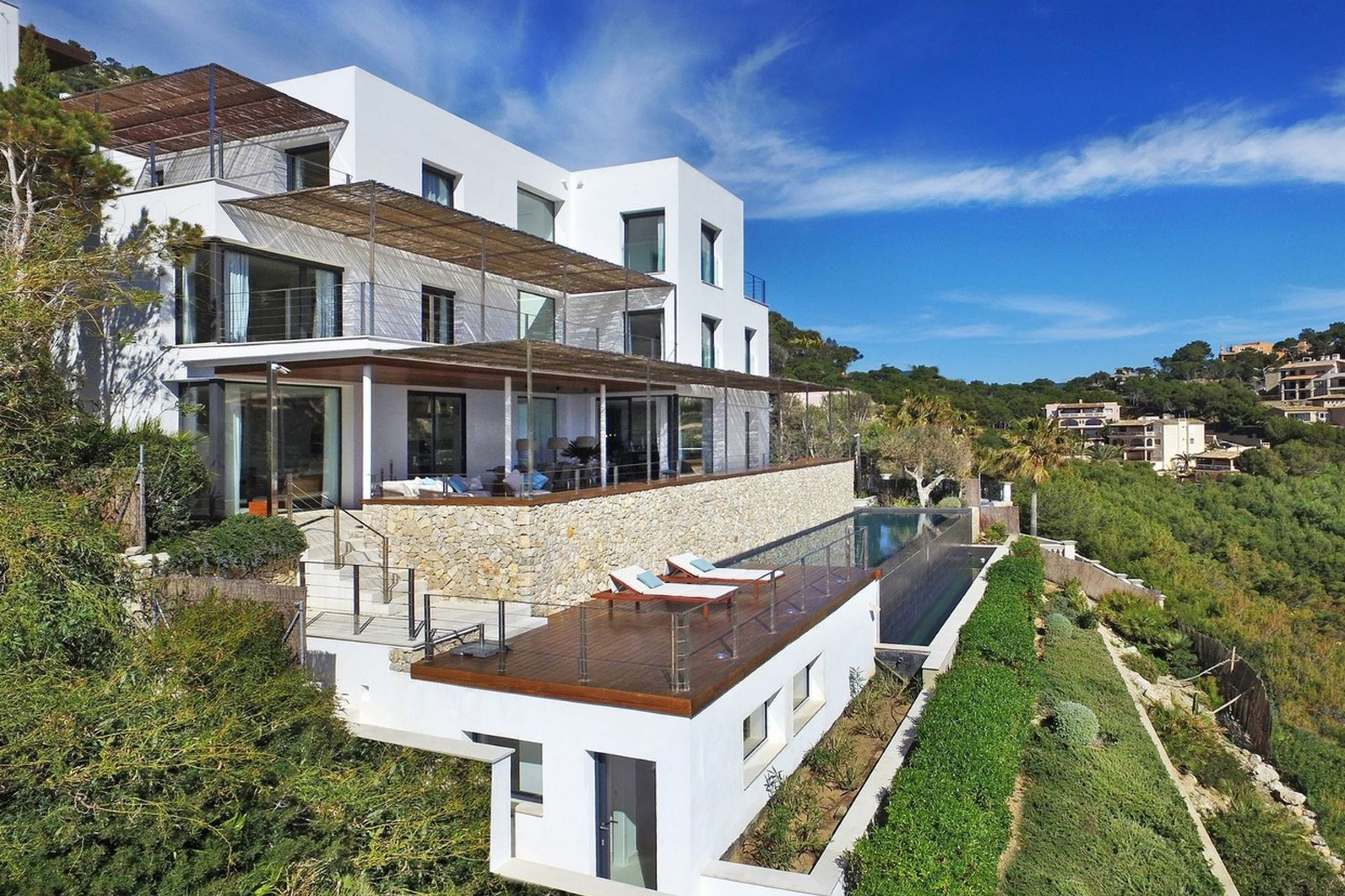 Single Family Home for Sale at Villa for sale with sea views in Cala Moragues Port d Andratx, Balearic Islands, Spain