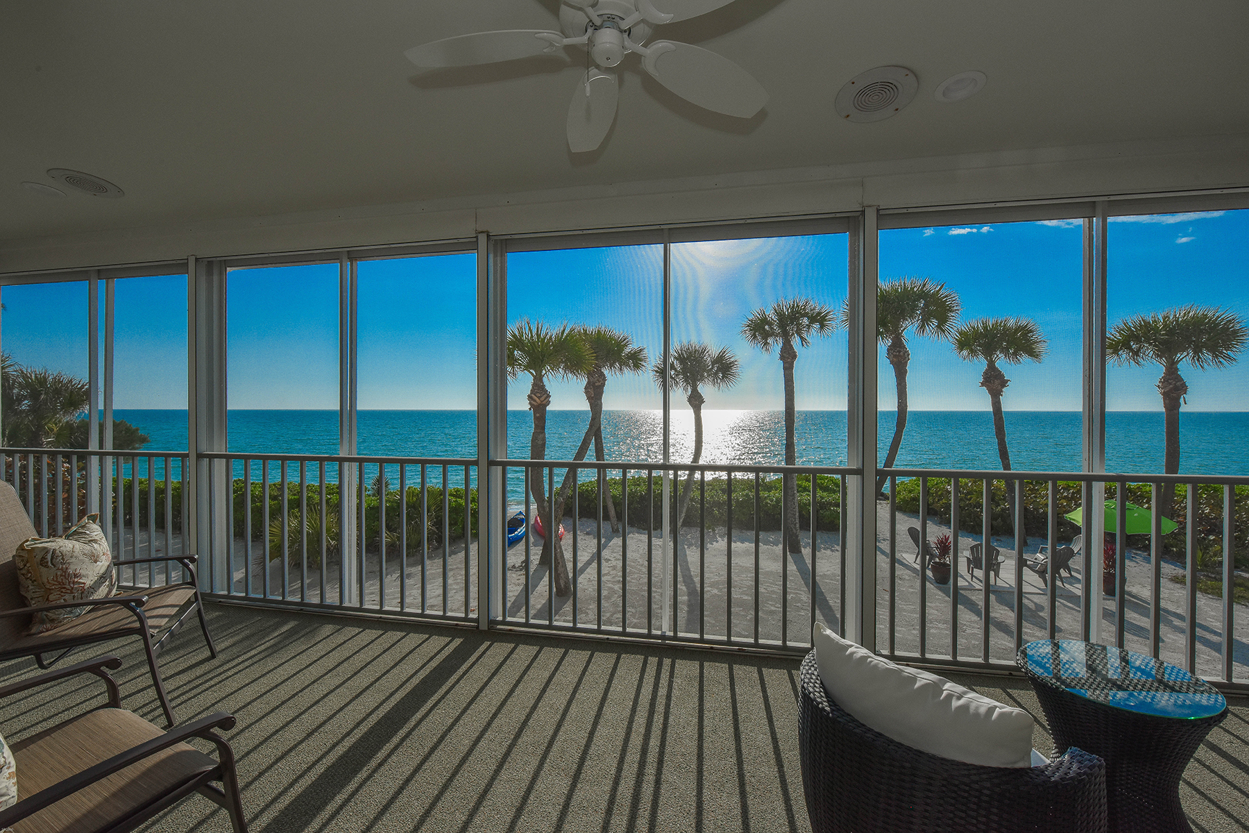 single family homes for Active at 1027 N Casey Key Rd Osprey, Florida 34229 United States