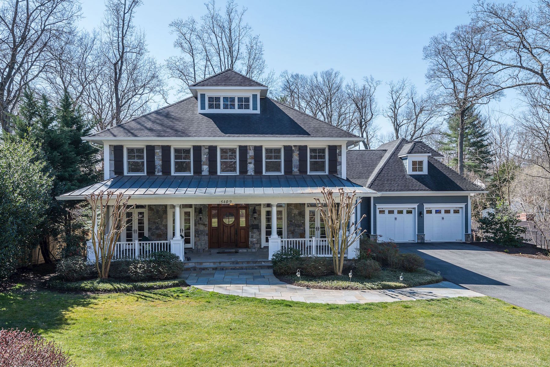Single Family Home for Sale at Bethesda's Best Half Acre 5409 Tuscarawas Rd Bethesda, Maryland 20816 United States