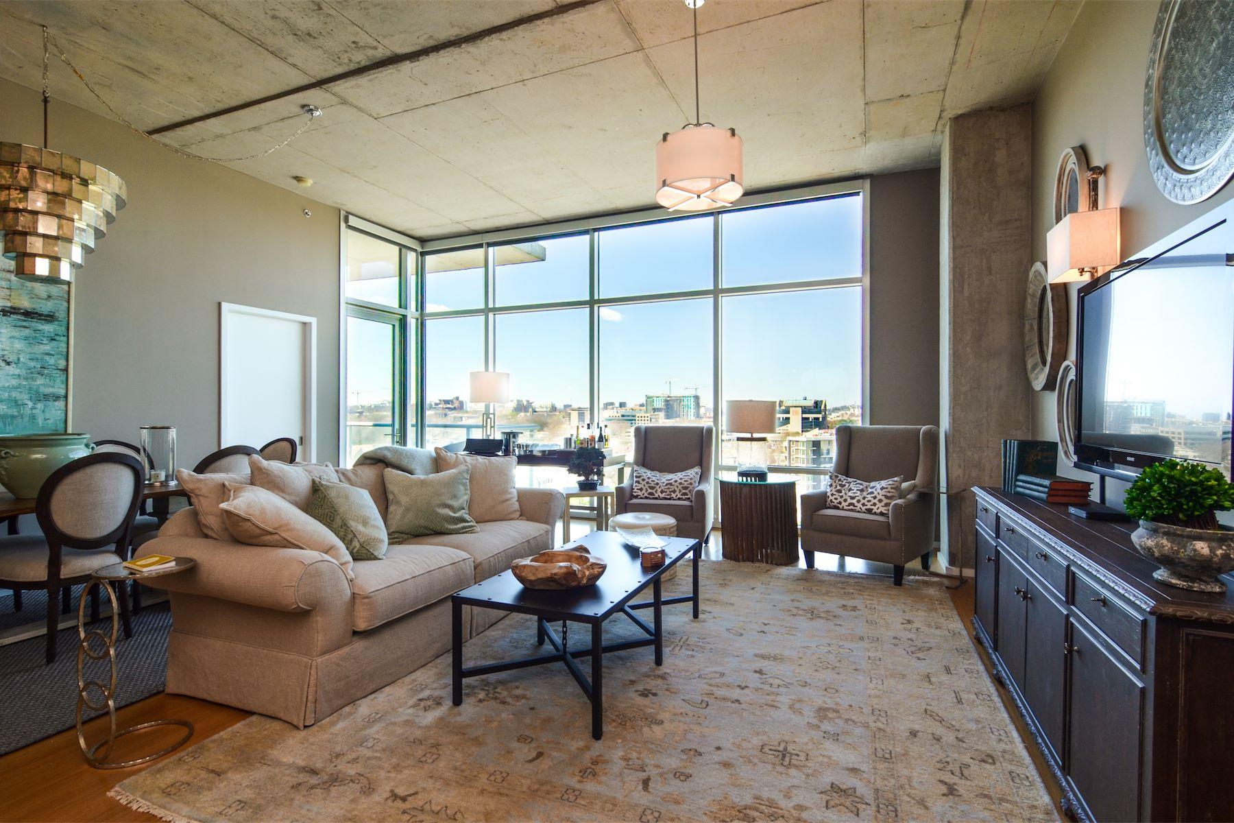 Condominium for Sale at Ravishing Terrazzo Condo in Midtown 700 12th Ave S Unit 1013 Nashville, Tennessee 37203 United States