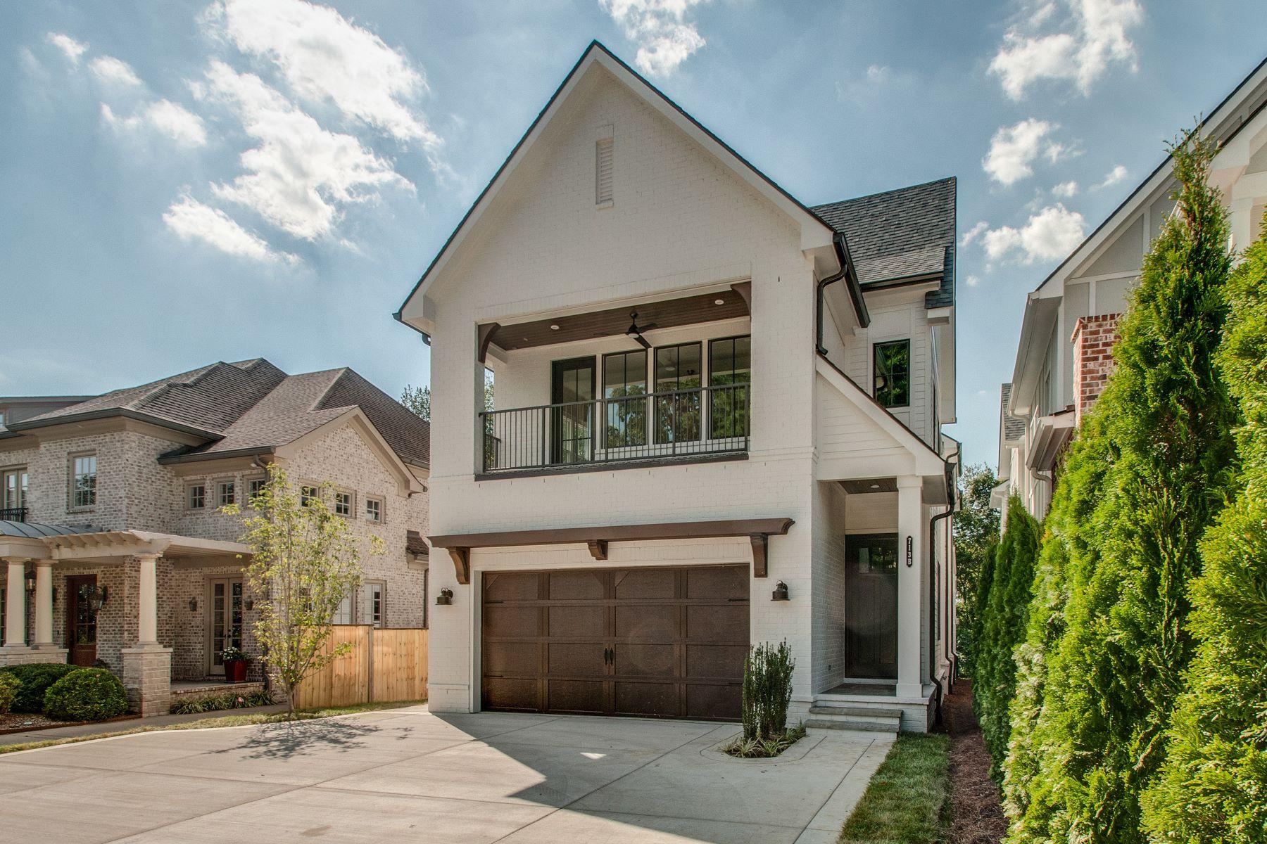 Single Family Homes 为 销售 在 Gorgeous Woodmont Park New Construction 713B Cantrell Avenue 那什维尔, 田纳西州 37215 美国