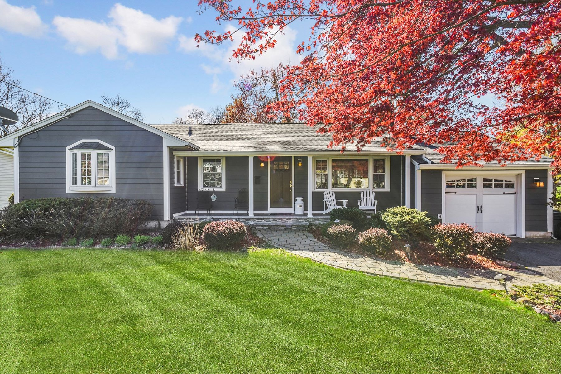 Single Family Homes for Sale at Renovated Ranch 128 Mountain Way Morris Plains, New Jersey 07950 United States