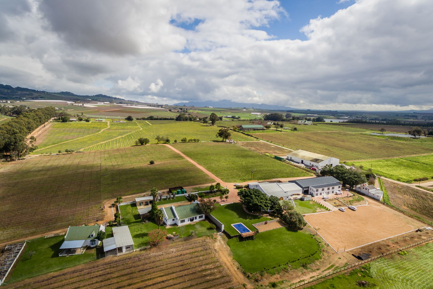 Farm / Ranch / Plantation for Sale at Lifestyle Wine, Guest and Wedding Venue Paarl, Western Cape, 7646 South Africa