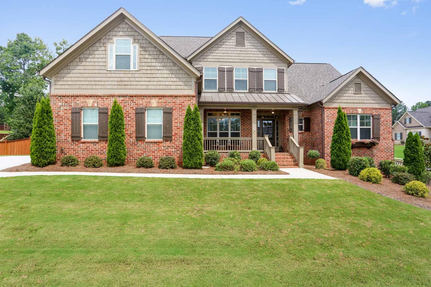 Maison unifamiliale pour l Vente à Pristine Condition on Private Corner Lot 6415 Farmview Drive NW Acworth, Georgia, 30101 États-Unis