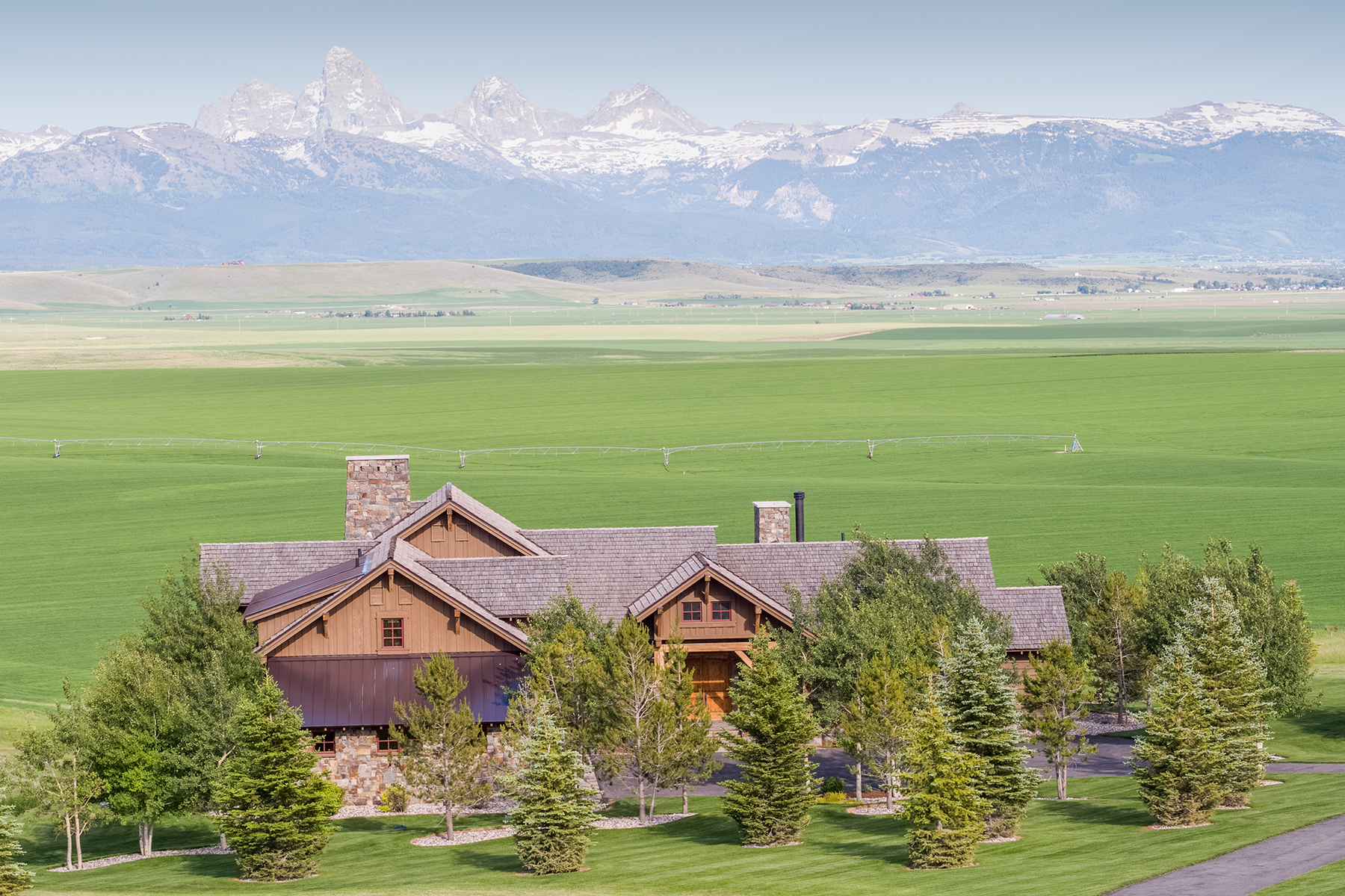 Single Family Homes のために 売買 アット Architectural Masterpiece with Teton Views 9685 River Rim Ranch Rd, Tetonia, アイダホ 83452 アメリカ