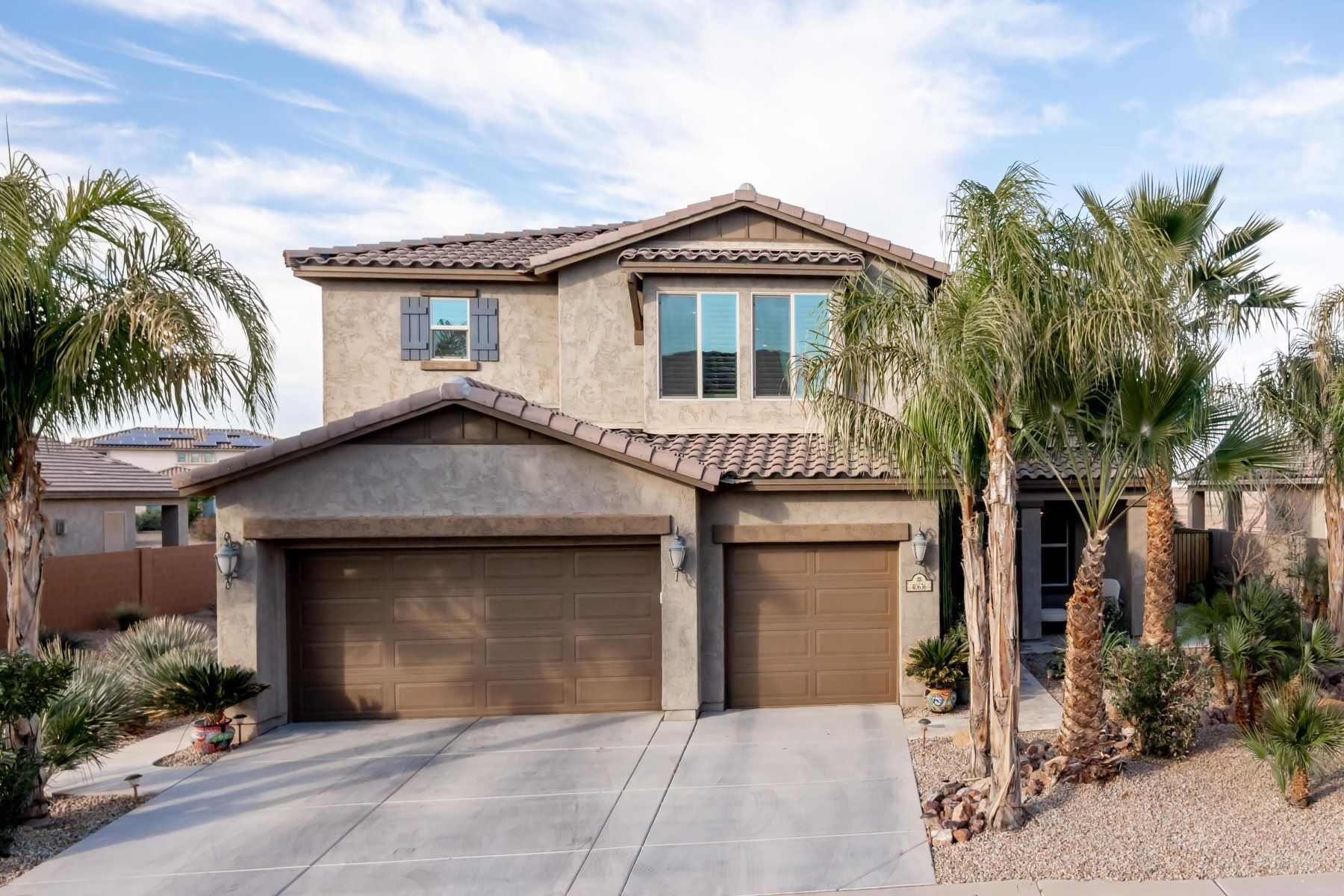 Single Family Homes for Active at Rancho El Dorado 40636 W Parkhill DR Maricopa, Arizona 85138 United States