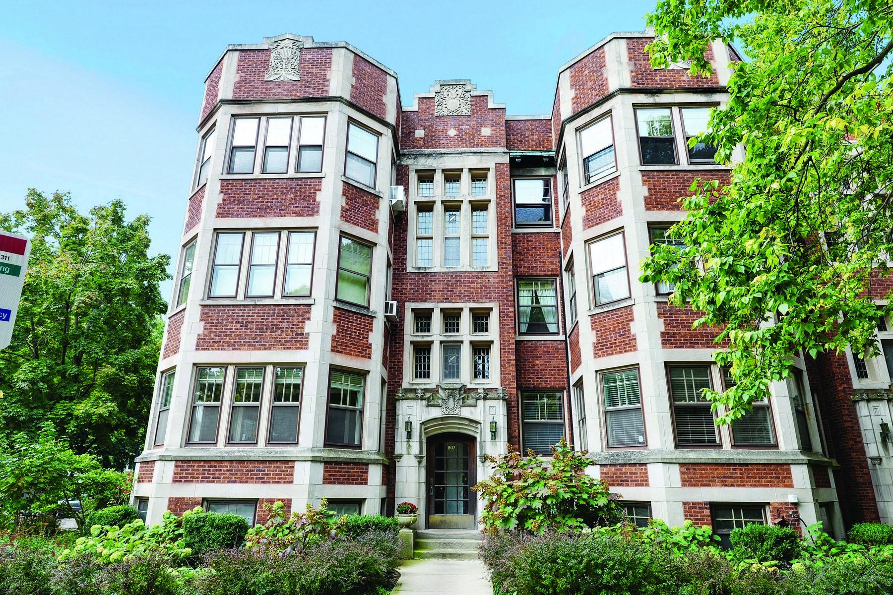 Villa per Vendita alle ore Gorgeous vintage home 802 Forest Avenue Unit 1S, Evanston, Illinois, 60202 Stati Uniti